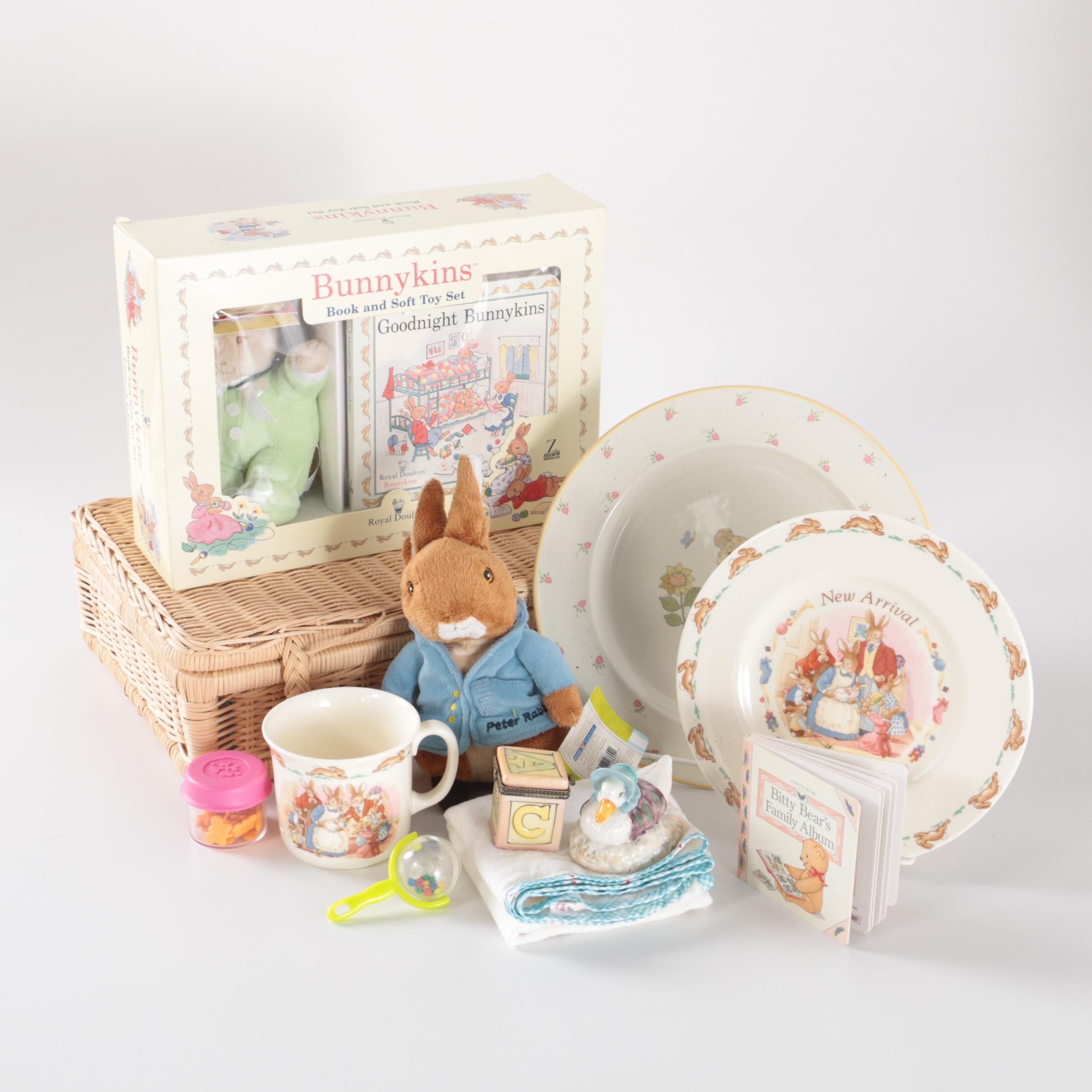 Wedgwood Beatrix Potter Peter Rabbit and Royal Doulton Bunnykins Collectibles