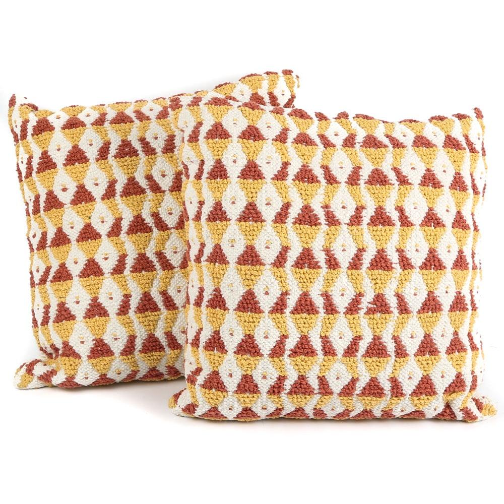 Decorative Textured Throw Pillows