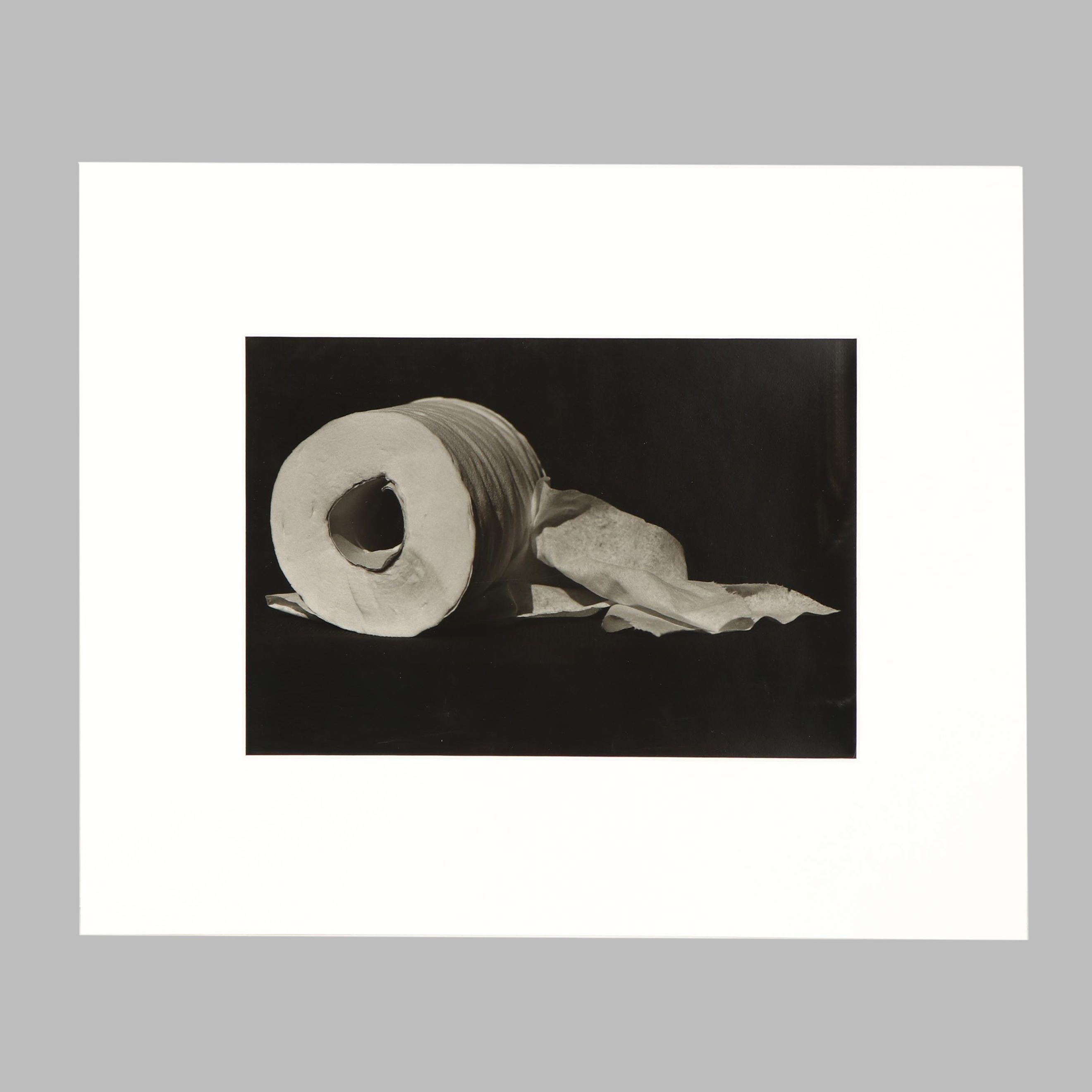 "Naomi Savage Gum Bichromate Photograph ""On a Roll"""