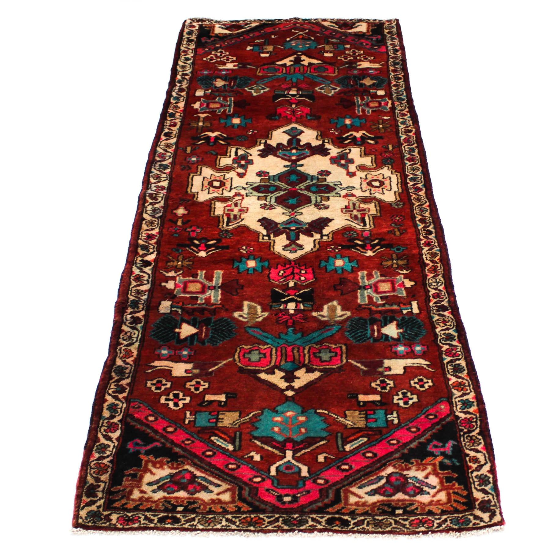 3'7 x 9'7 Semi-Antique Persian Northwest Runner