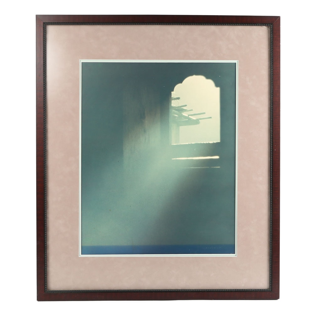 """Offset Lithograph after Douglas Anderson """"Nepalese Window"""""""