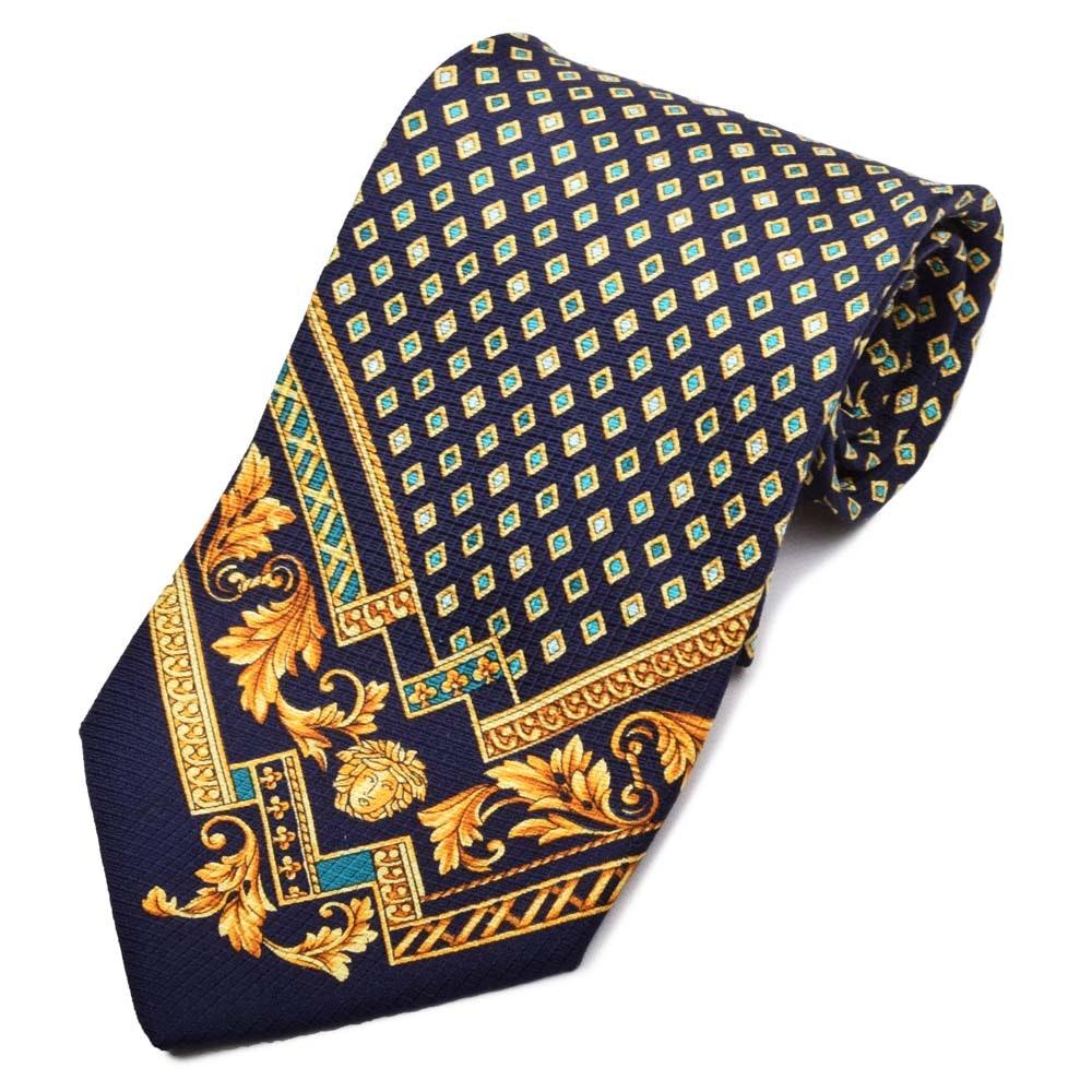 Gianni Versace Silk Necktie, Made in Italy