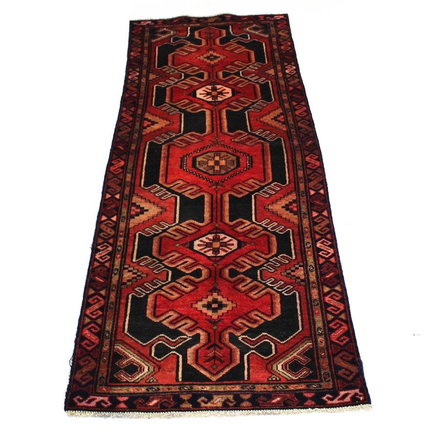 3 6 X 9 Semi Antique Hand Knotted Persian Northwest Carpet Runner Ebth