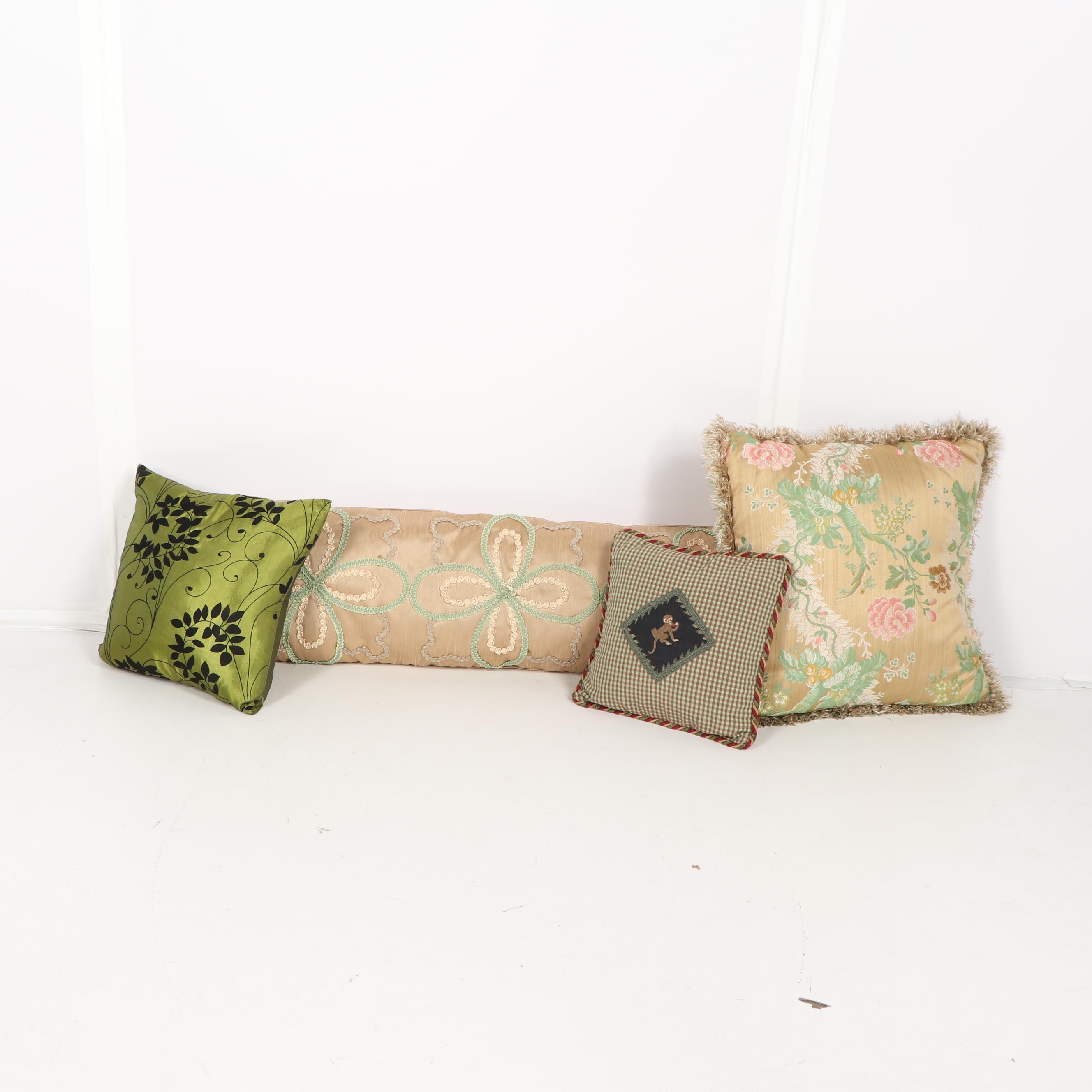 Decorative Pillows Including Nina Campbell