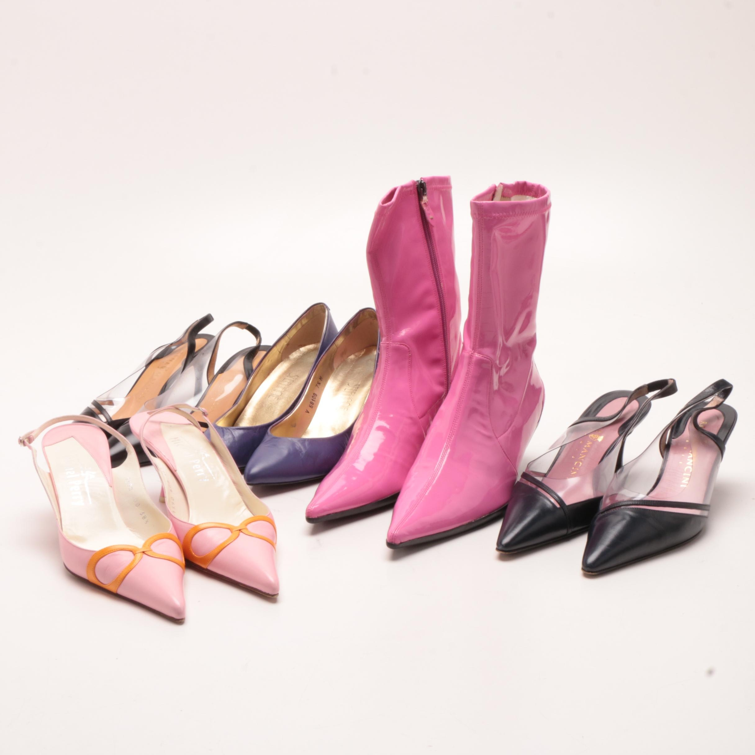 Michel Perry, Rene Mancini, Stephanie and Vaneli Slingbacks, Pumps and Boots