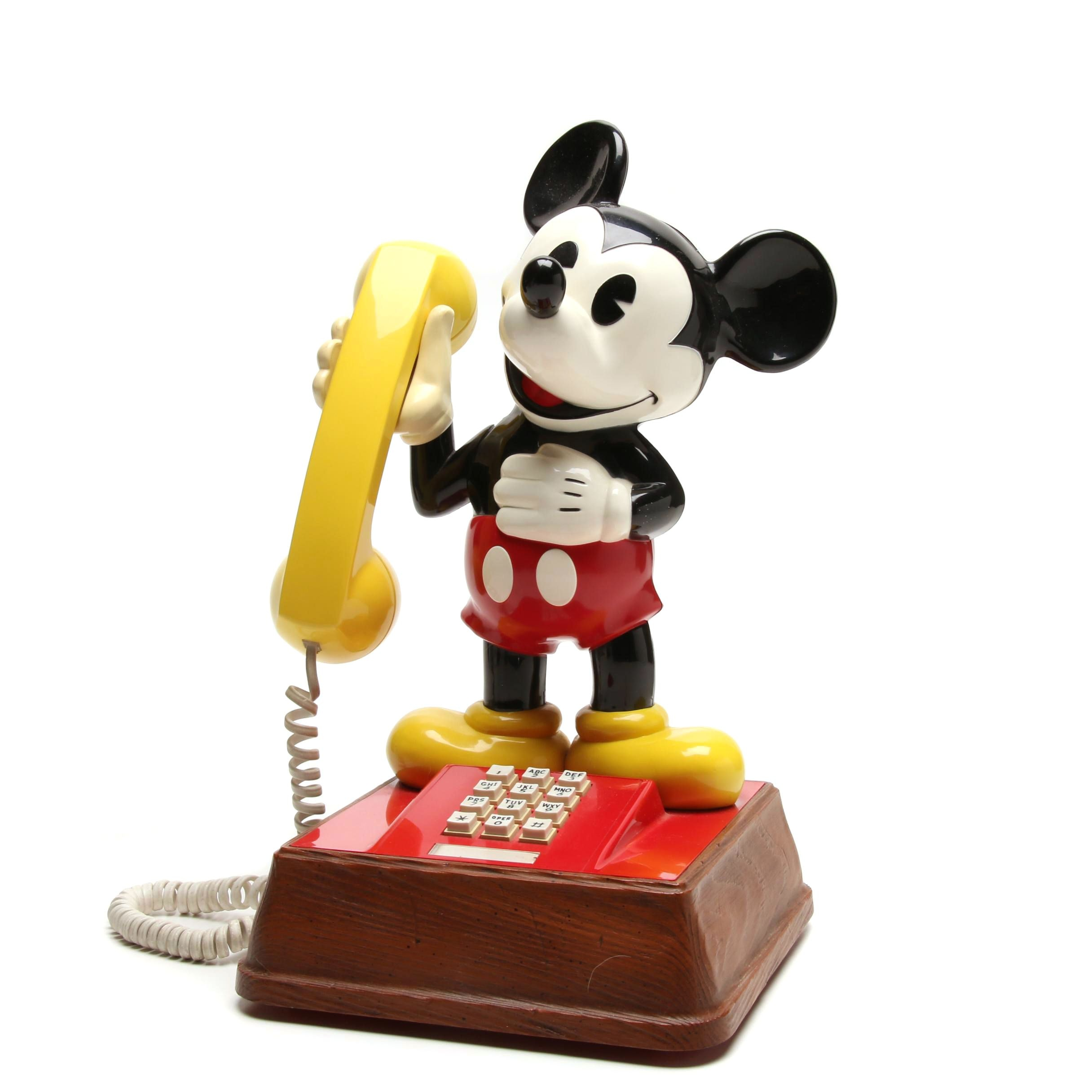 Vintage 1976 Mickey Mouse Phone