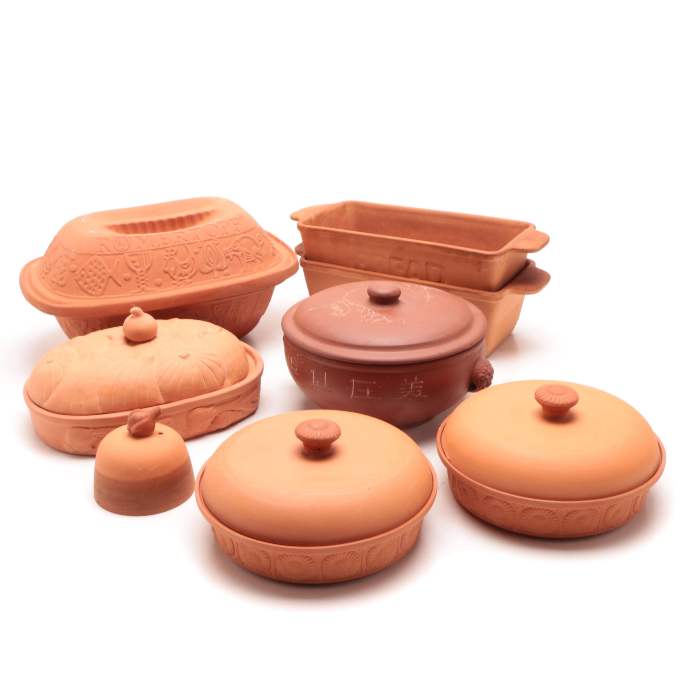 Group of Terracotta Bakeware