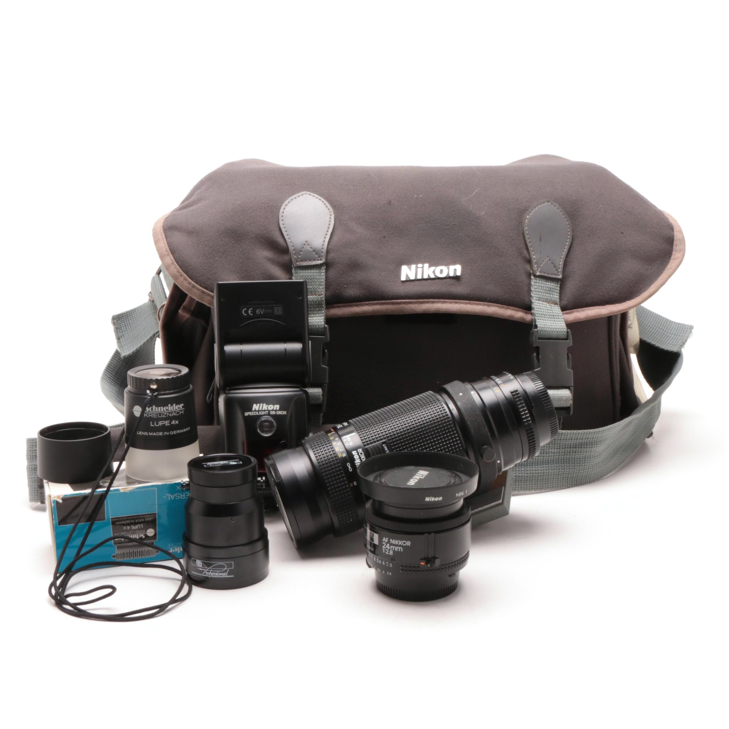 Nikon Telephoto Lens and Accessories