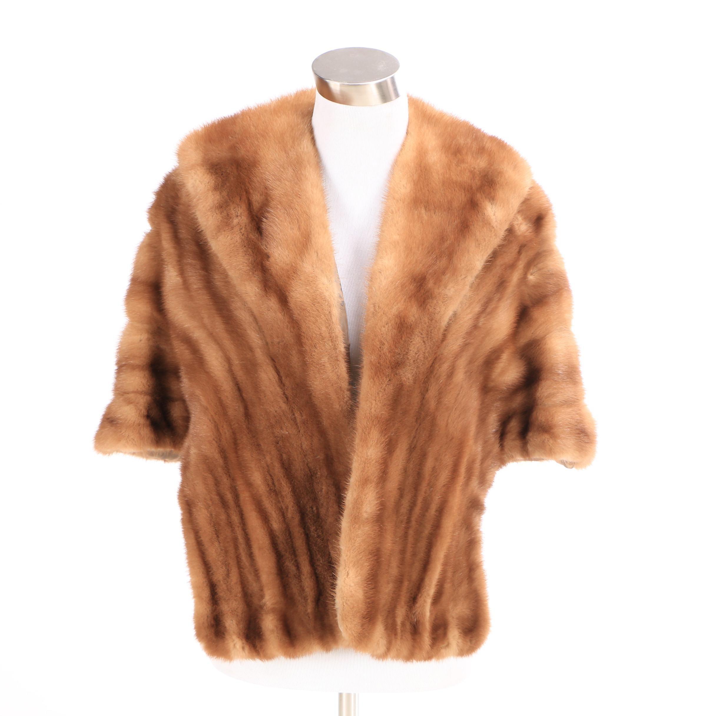 Women's Vintage Kaplowitz Mink Fur Stole