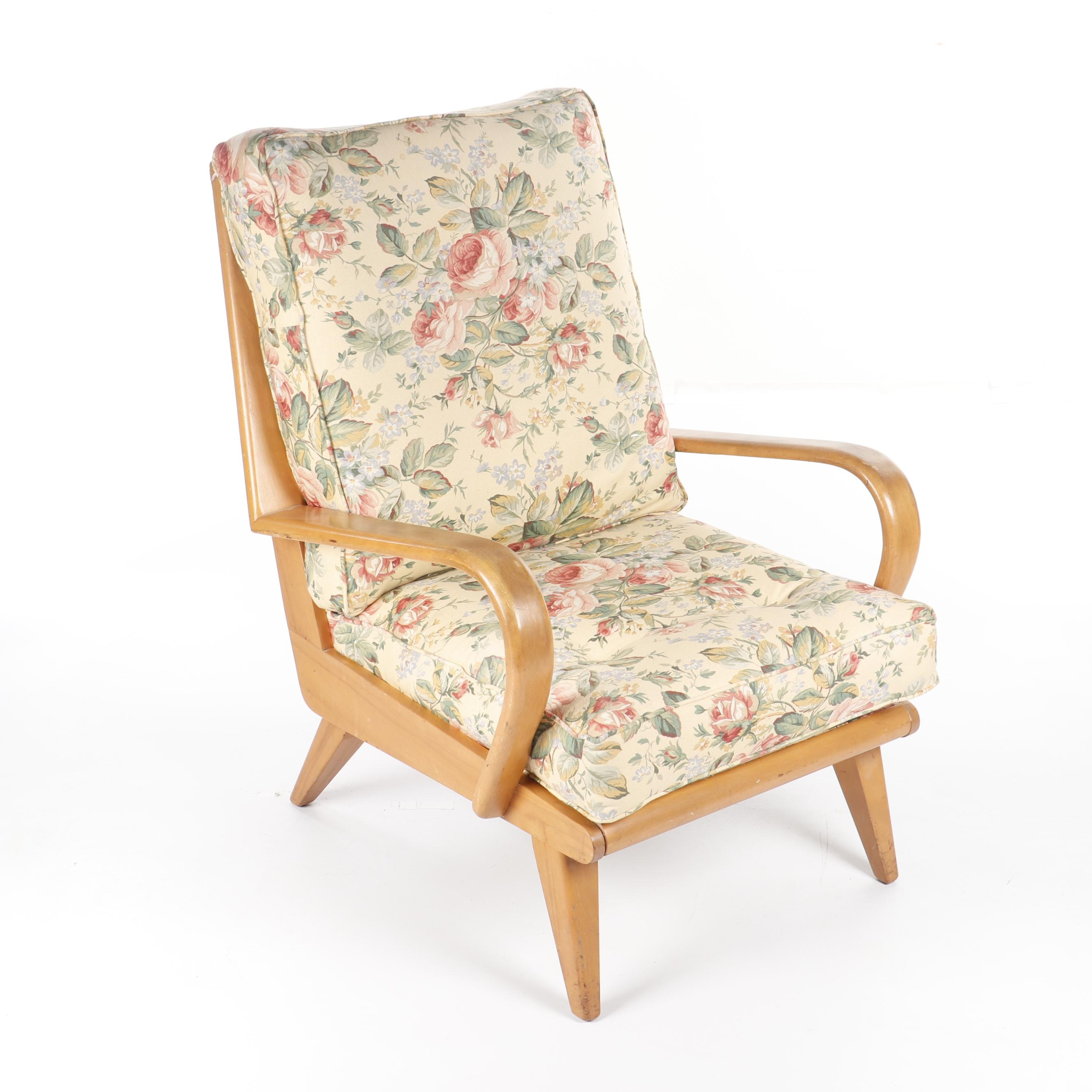 """Aristocraft"" Bent Maple Armchair by Heywood-Wakefield, Circa 1950s"