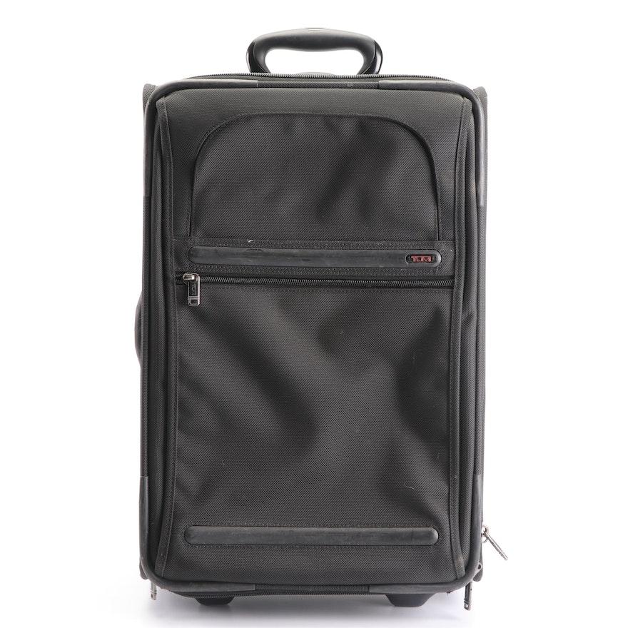 0241049afa55 Tumi Black Nylon Rolling Travel Bag   EBTH