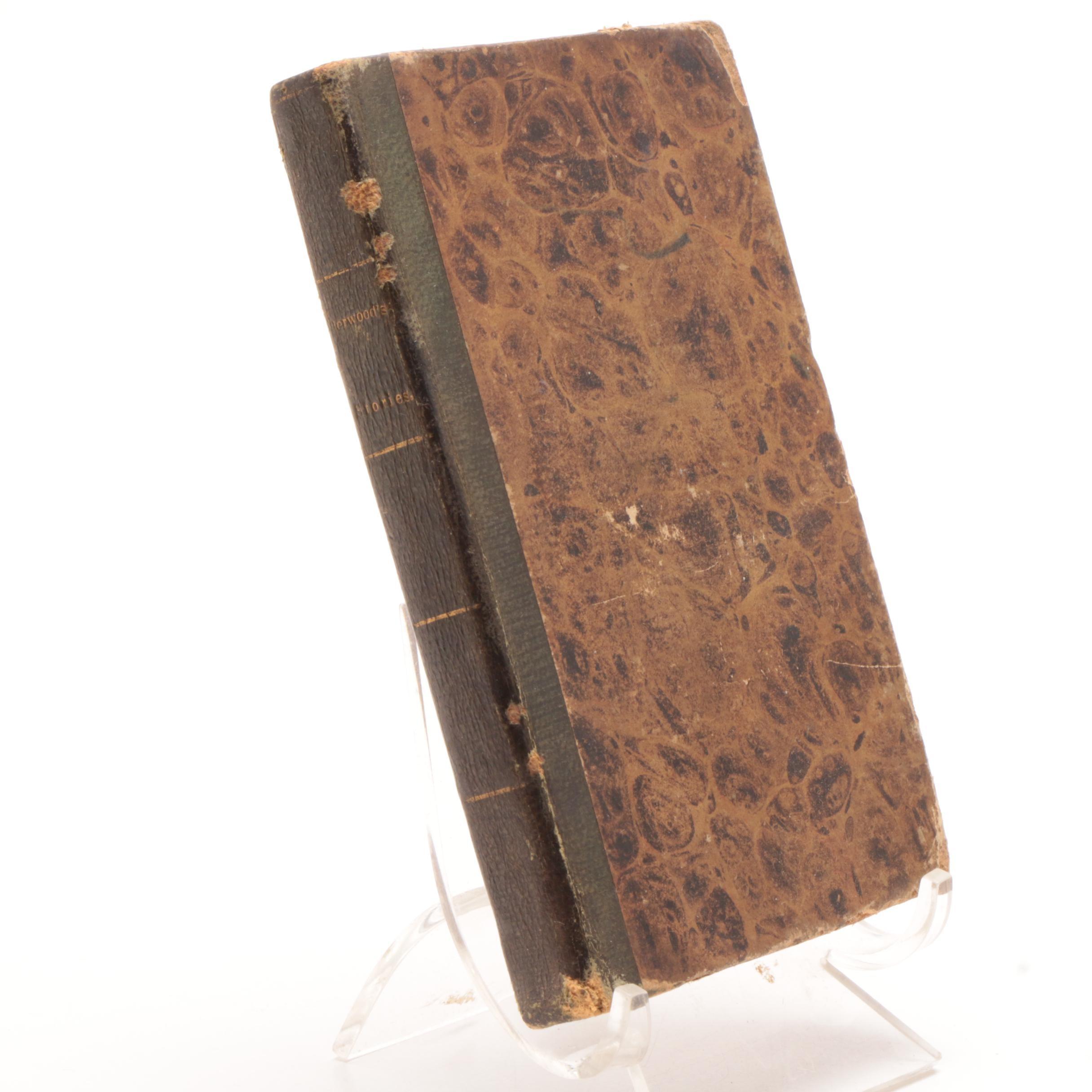 "1827 ""New Stories"" of Mary Martha Sherwood"