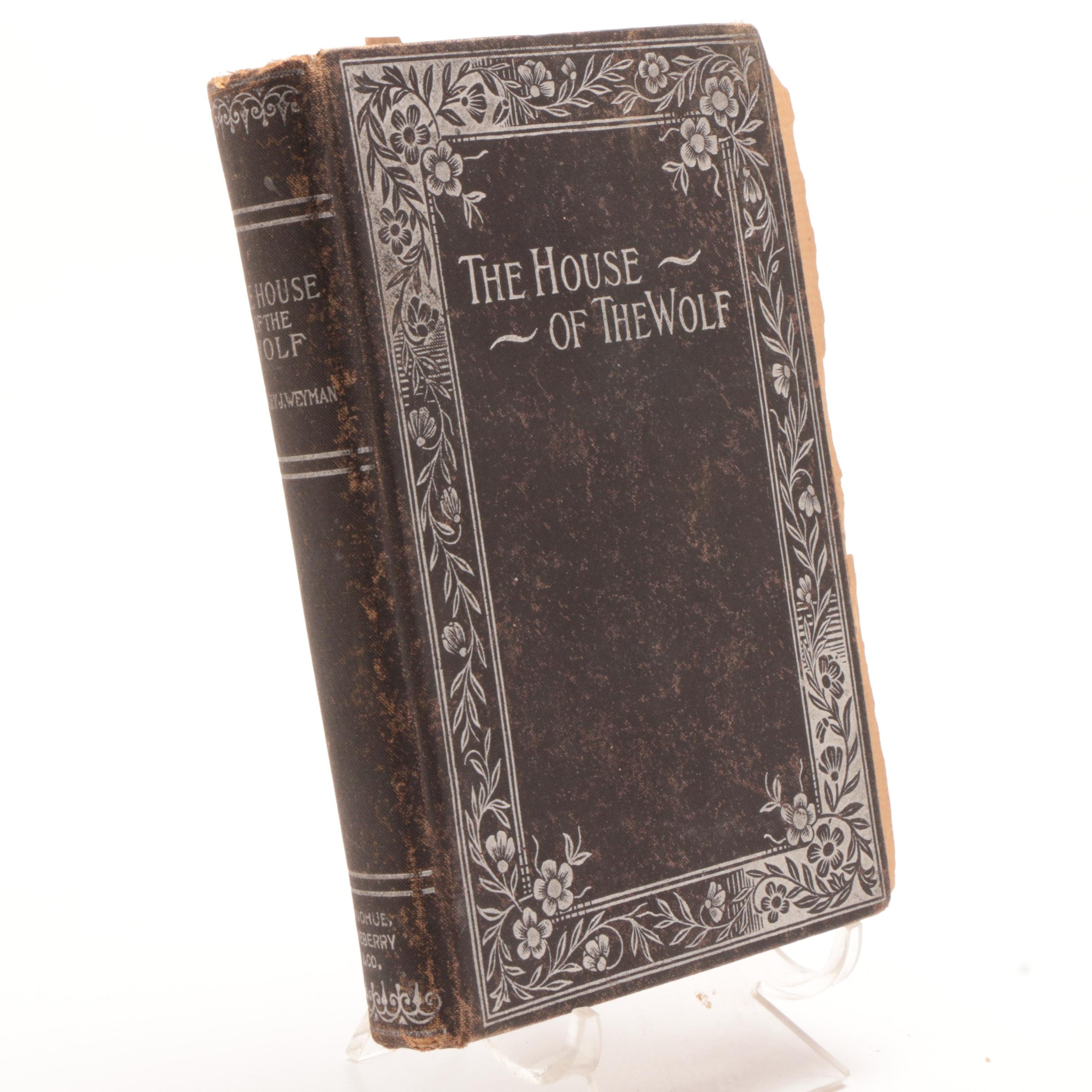 """Antique """"The House of the Wolf"""" Hardcover"""