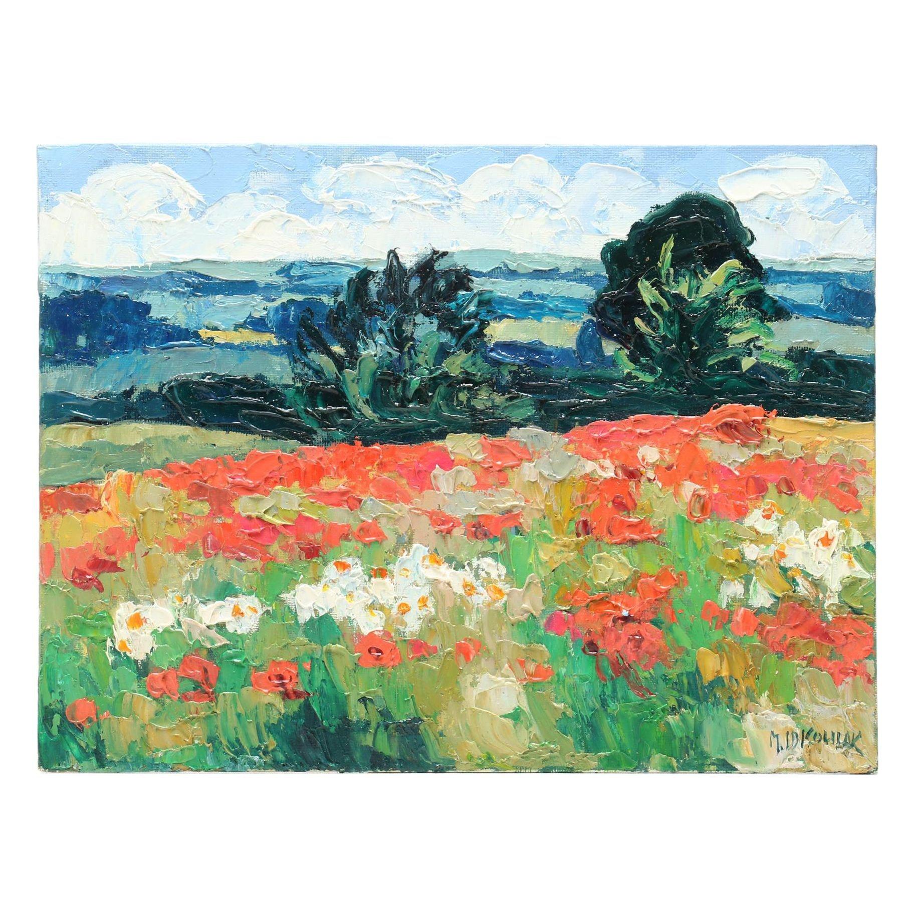 Mario Idkowiak Oil Landscape Painting