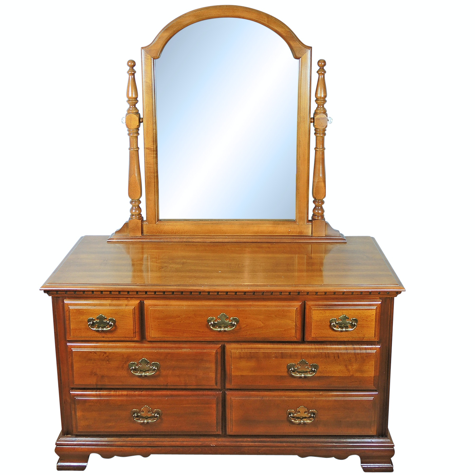 Dresser with Mirror by Sumter Cabinet Company