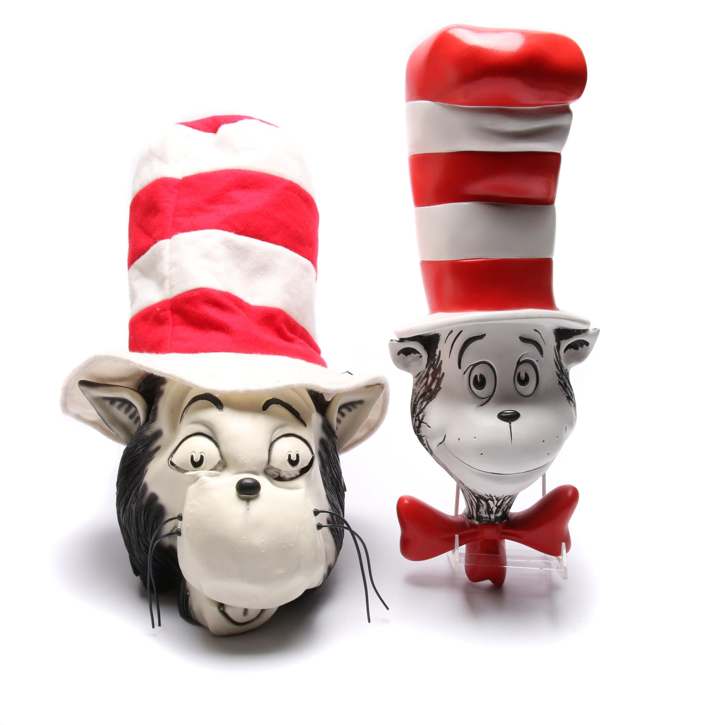Dr. Seuss Cat in the Hat Heads
