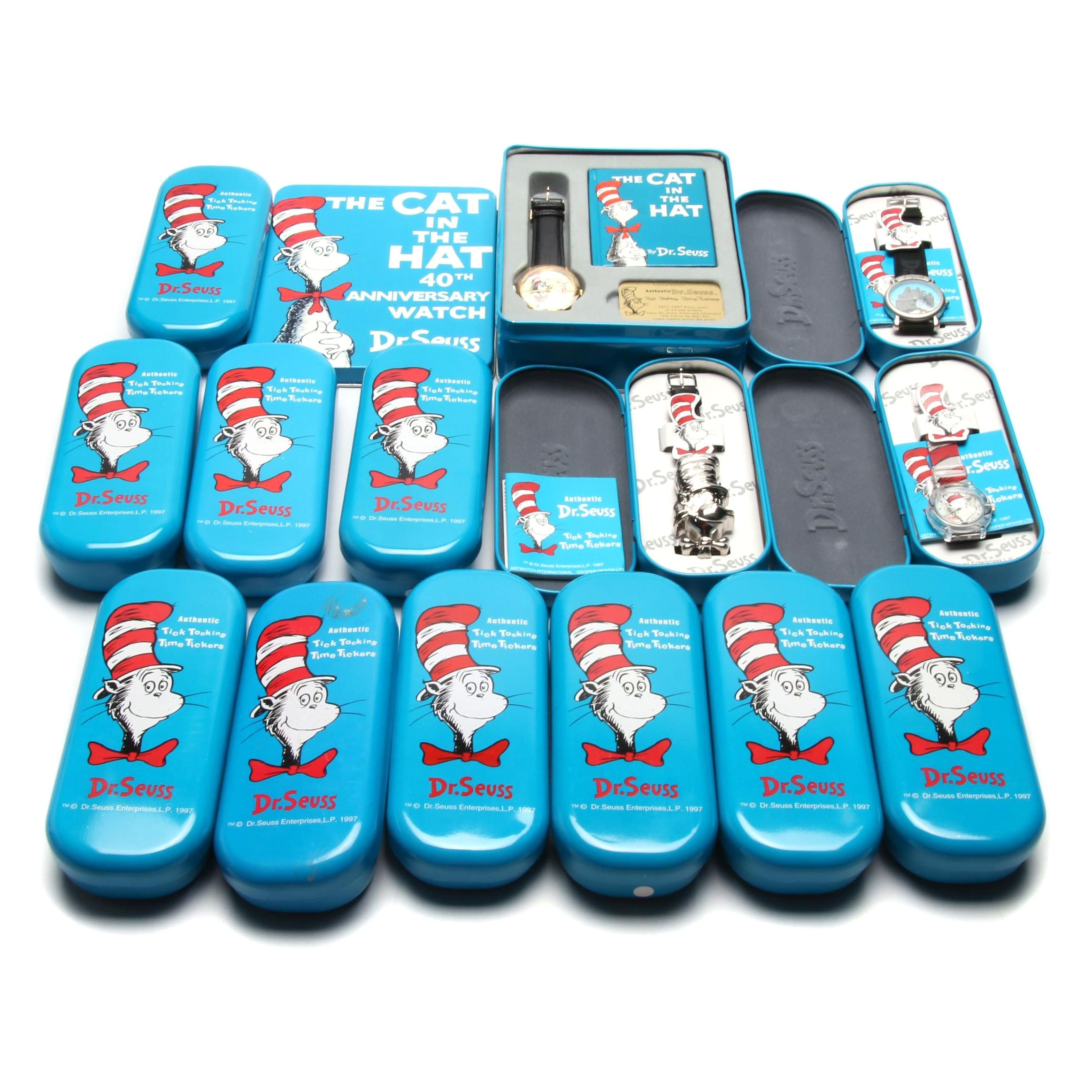 Dr. Seuss Collectible Wristwatches