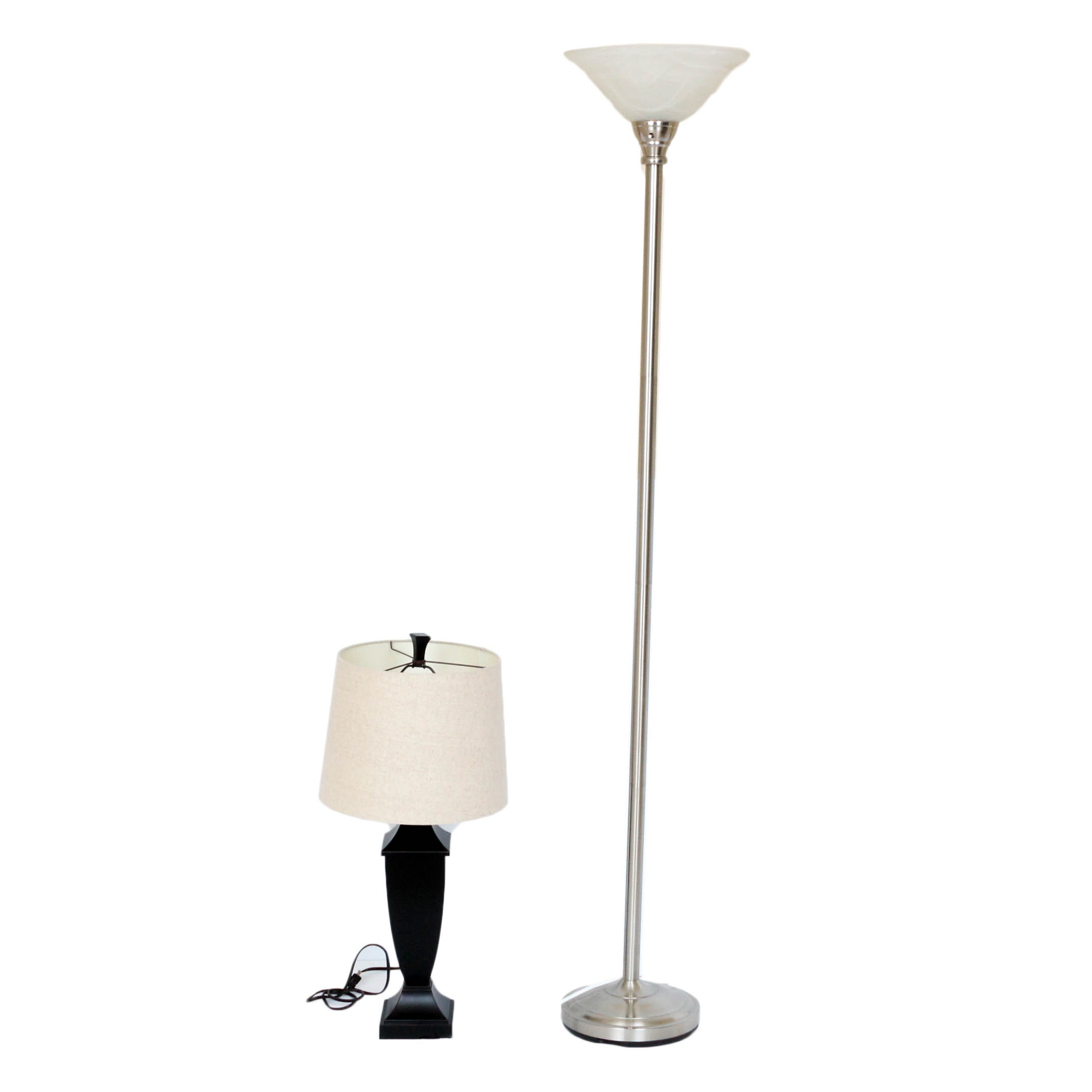 Pair of Contemporary Lamps
