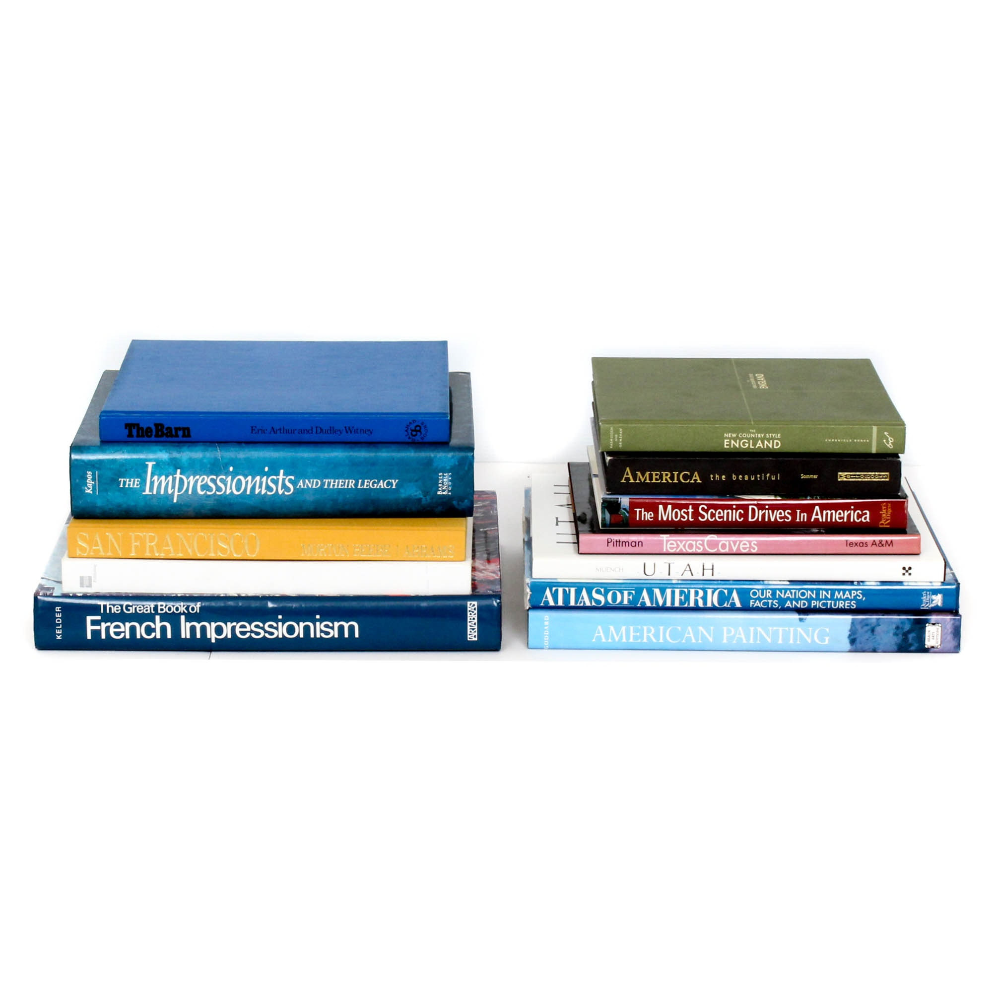 Art and Travel Coffee Table Books