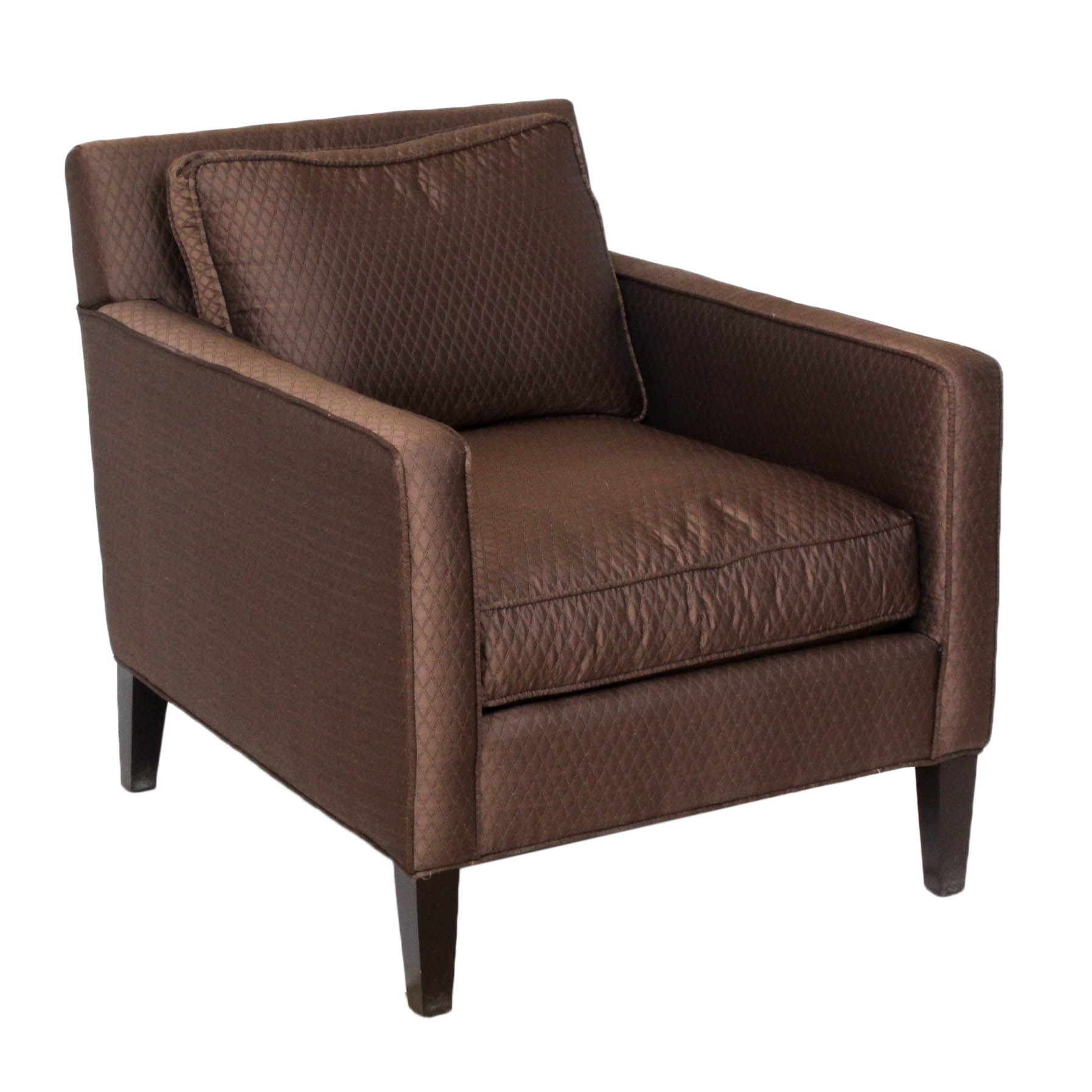 Contemporary Upholstered Club Chair by Bernhardt
