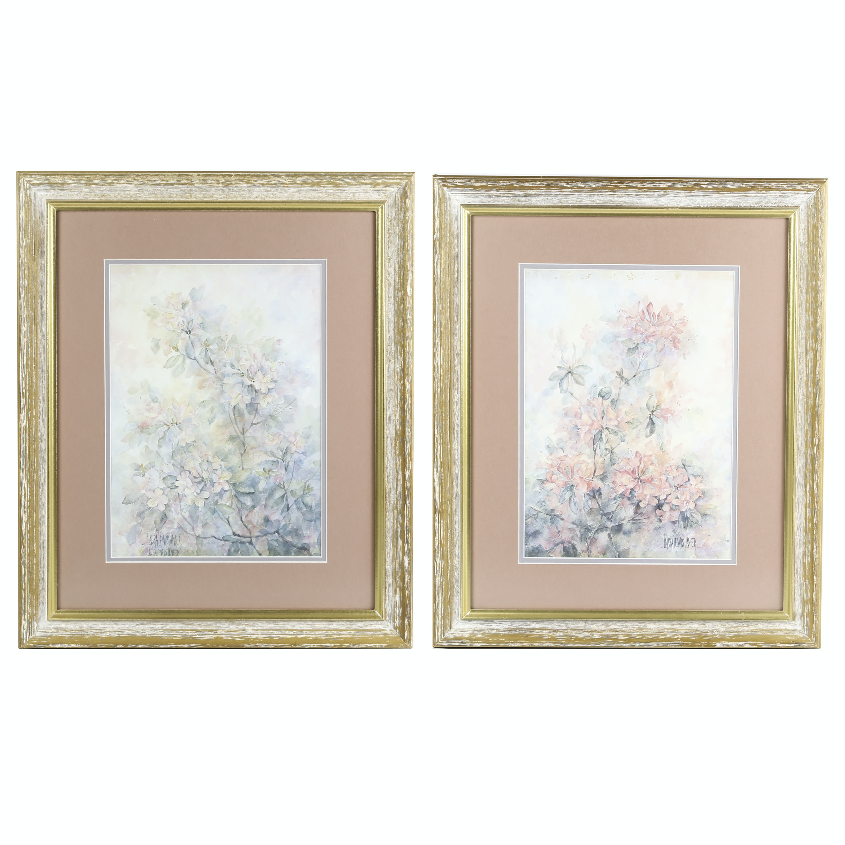 Two Offset Lithographs After Laura Lewis Lanier