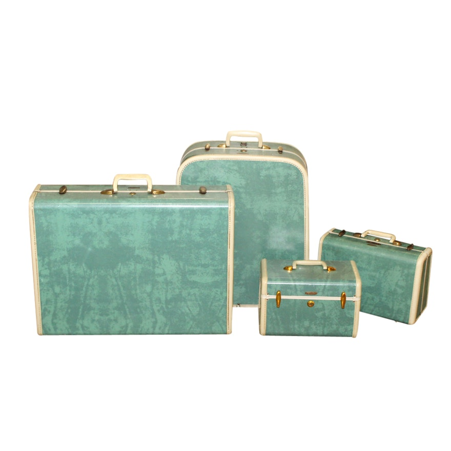 c475a41d7163 Samsonite Four-Piece Hard Shell Suitcase Set   EBTH