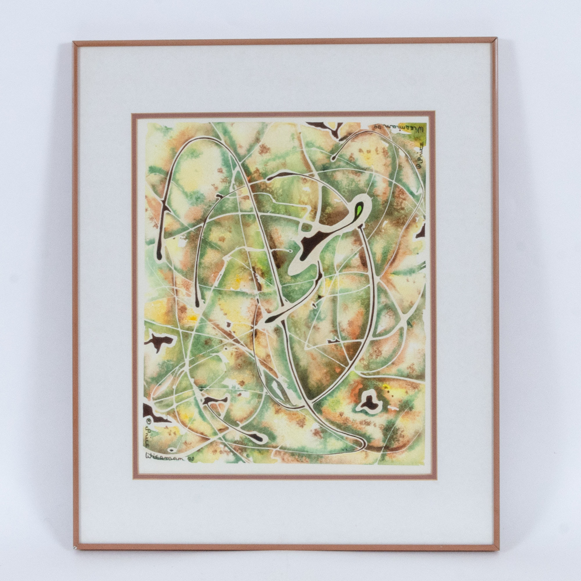 Price Wiesman Abstract Serigraph