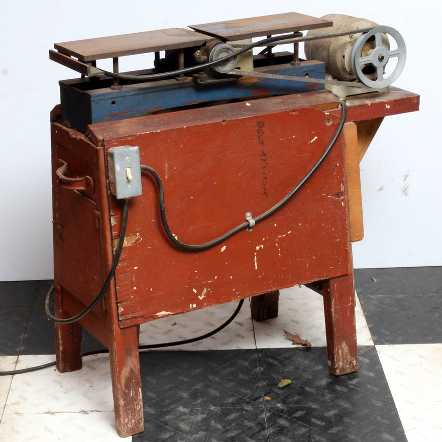Swell Vintage Dunlap Electric Planer Gmtry Best Dining Table And Chair Ideas Images Gmtryco
