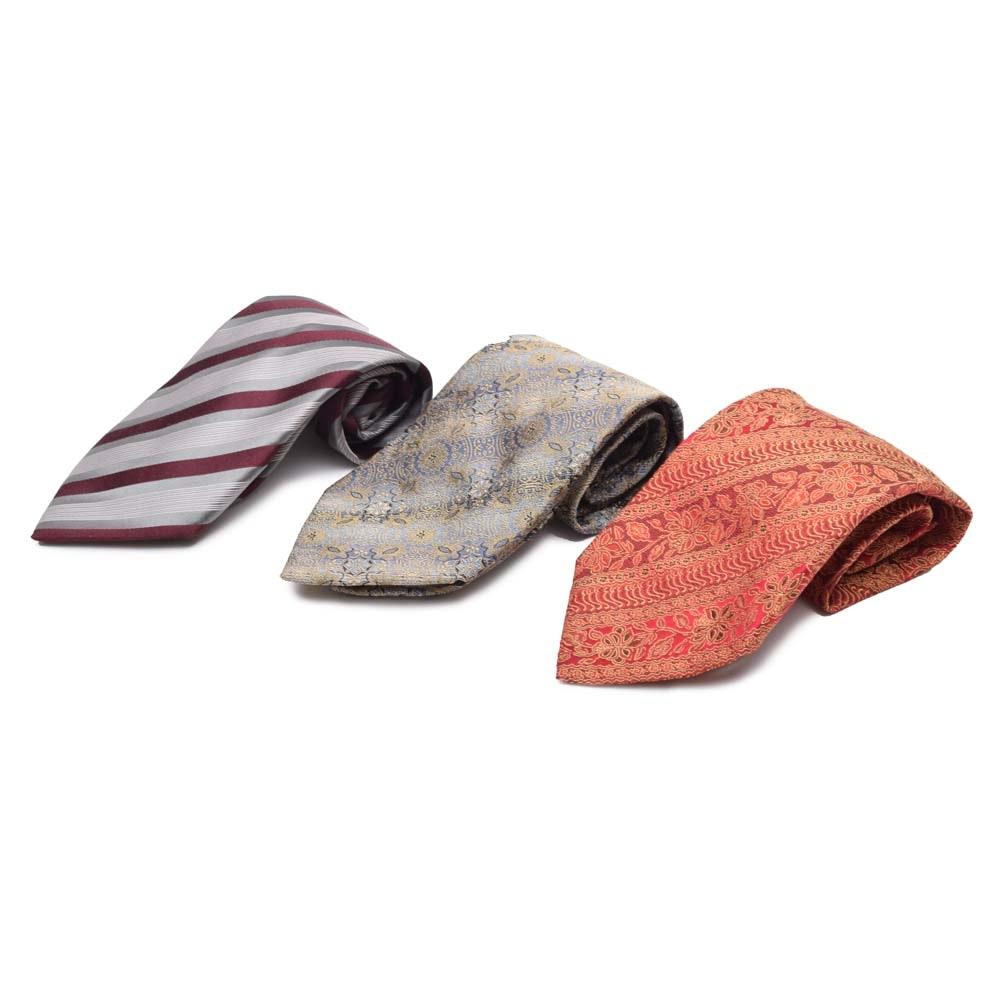 Men's Dolce & Gabbana Silk Neckties, Made in Italy