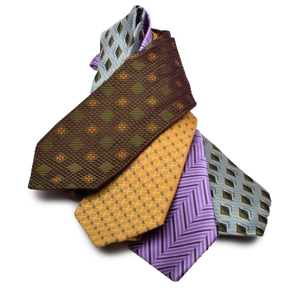 Ermenegildo Zegna Silk Neckties