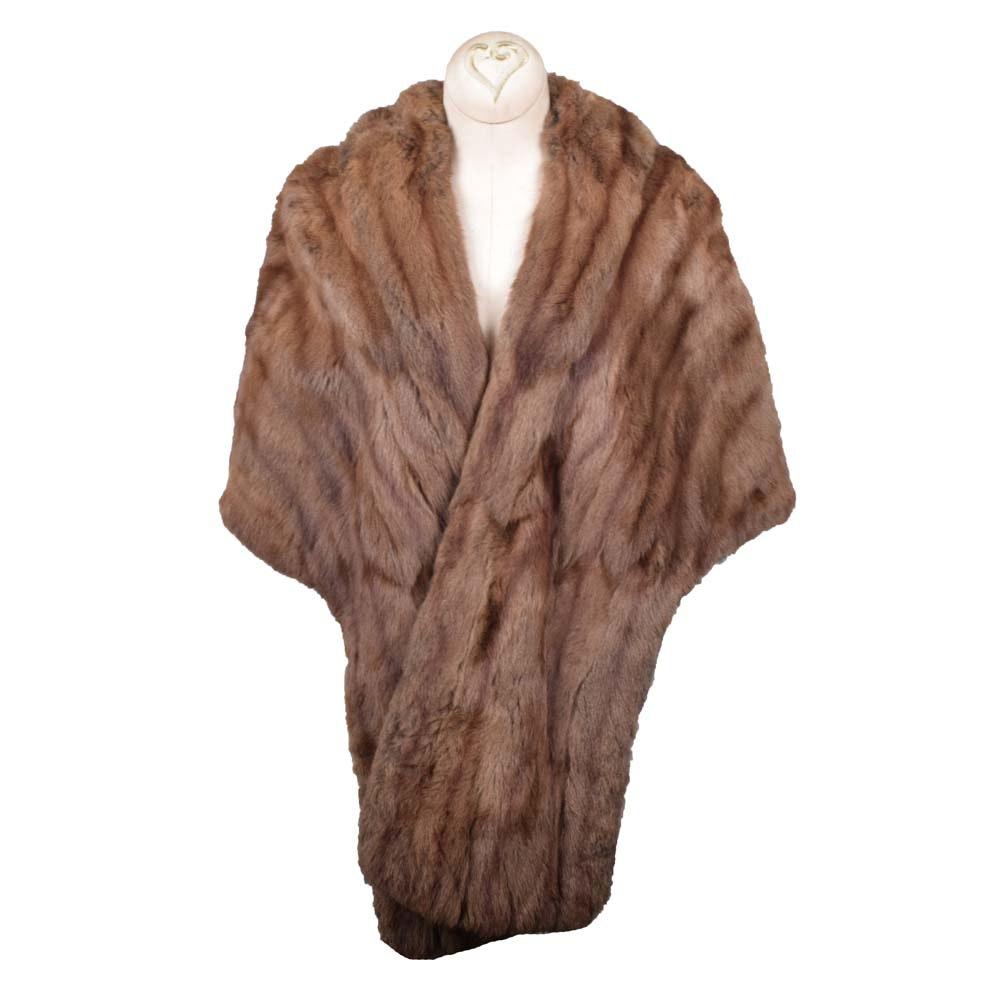 Women's Valuri Furs Mink Fur Stole