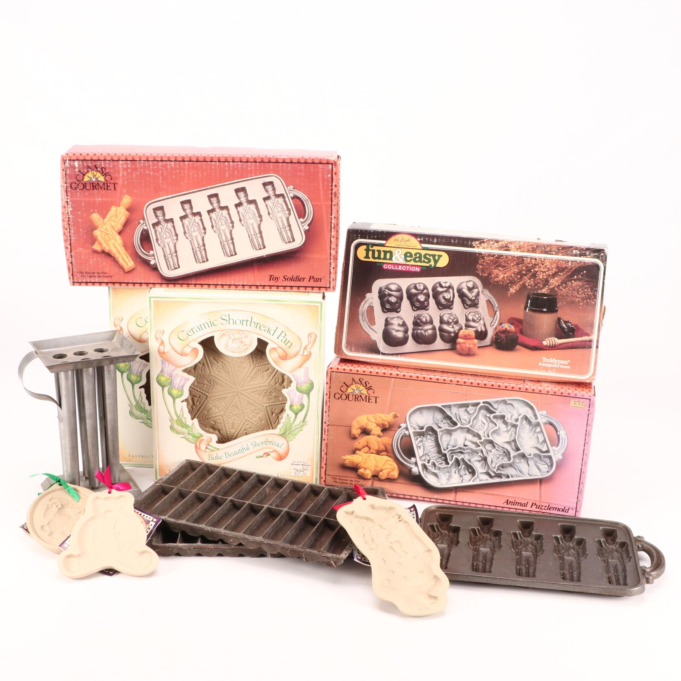 Cookie Candy and Craft Molds