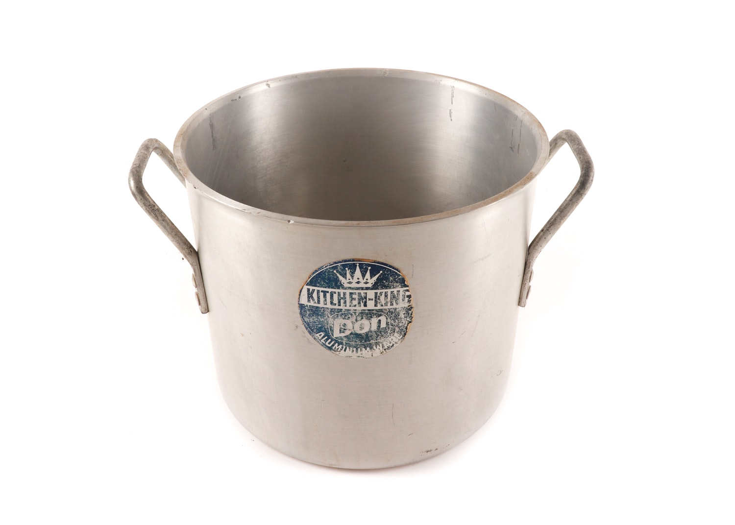 Vintage Kitchen-King Aluminum Stockpot