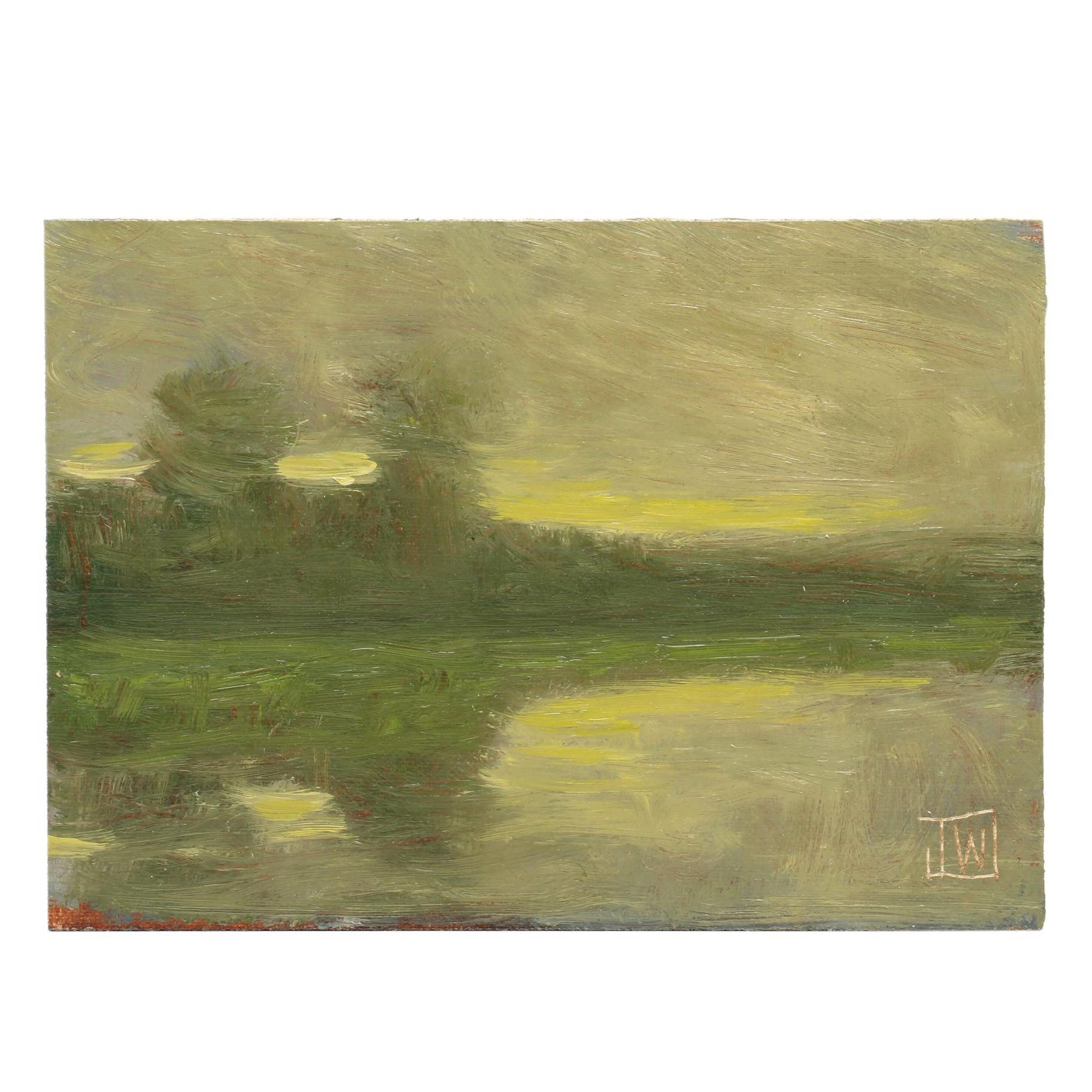 Joe Wojdakowski Tonalist Landscape Oil Painting