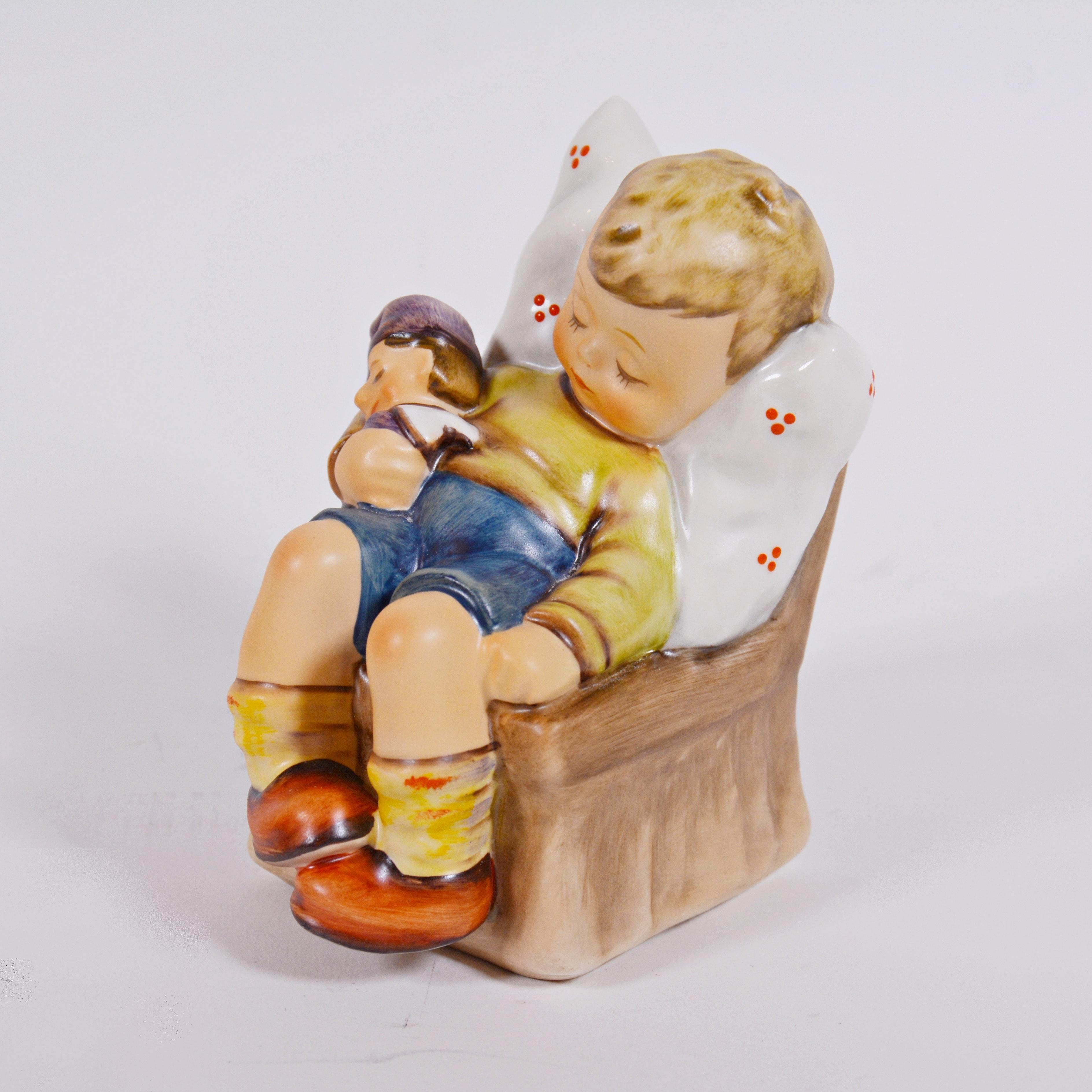 """Goebel M.I. Hummel """"Just Dozing"""" Porcelain Figurine"""