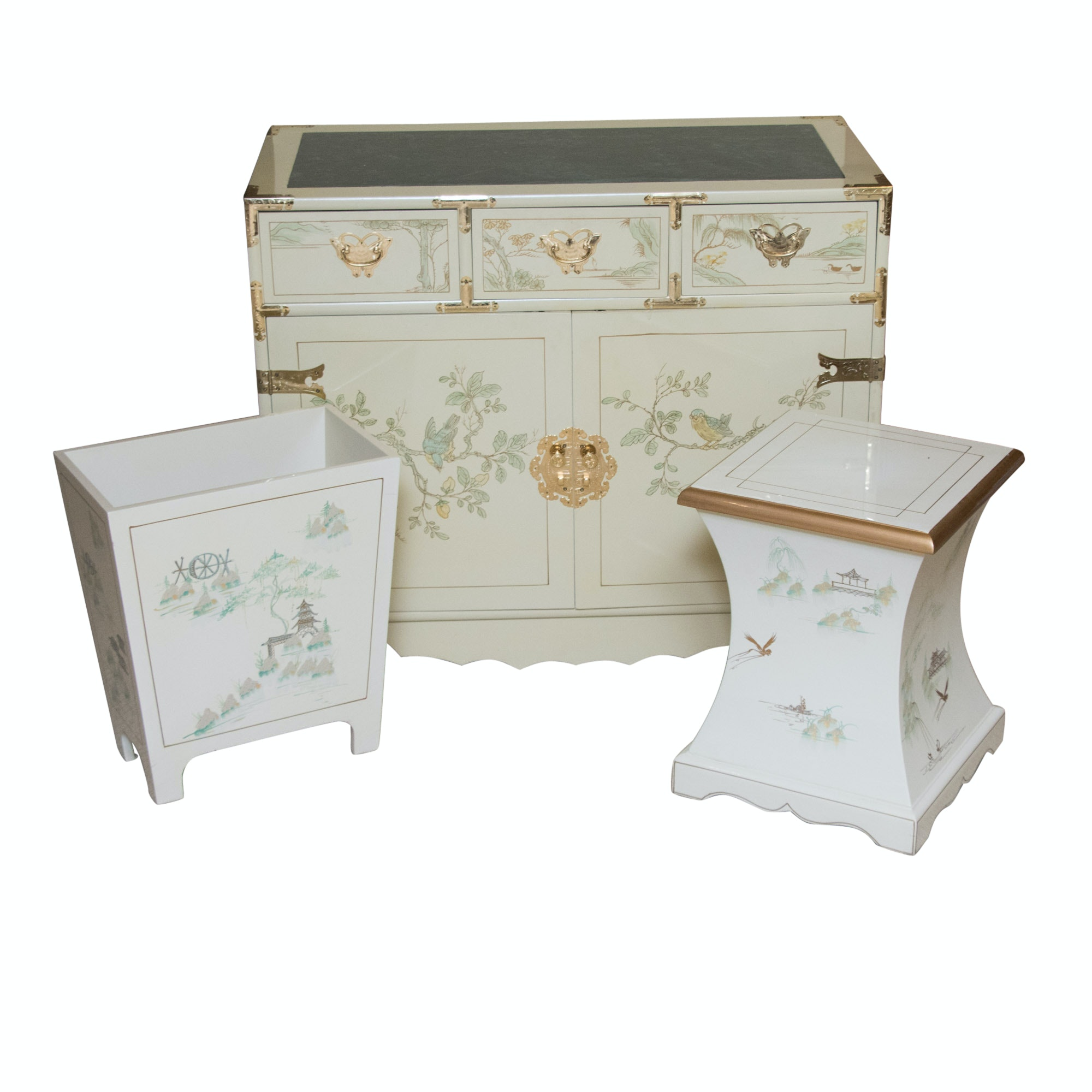 Chinoiserie Hand Painted Furniture