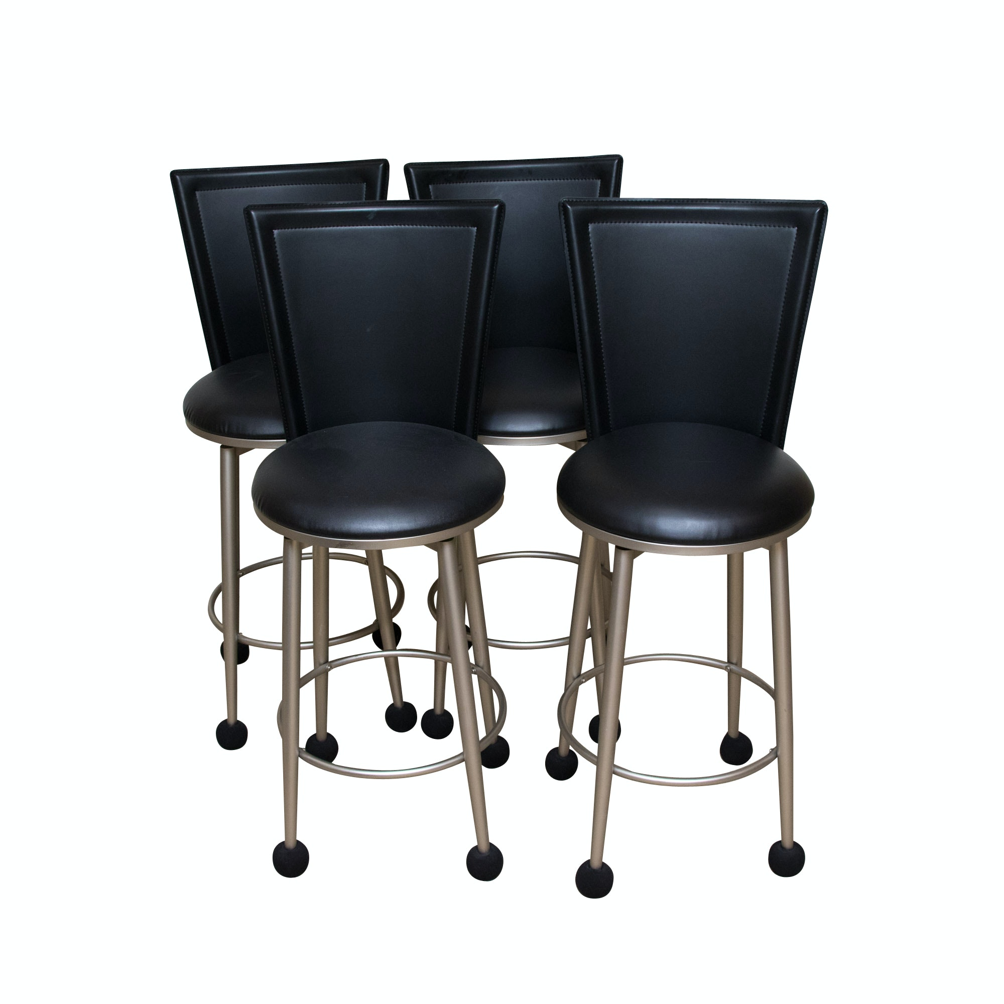 Four Contemporary Barstools