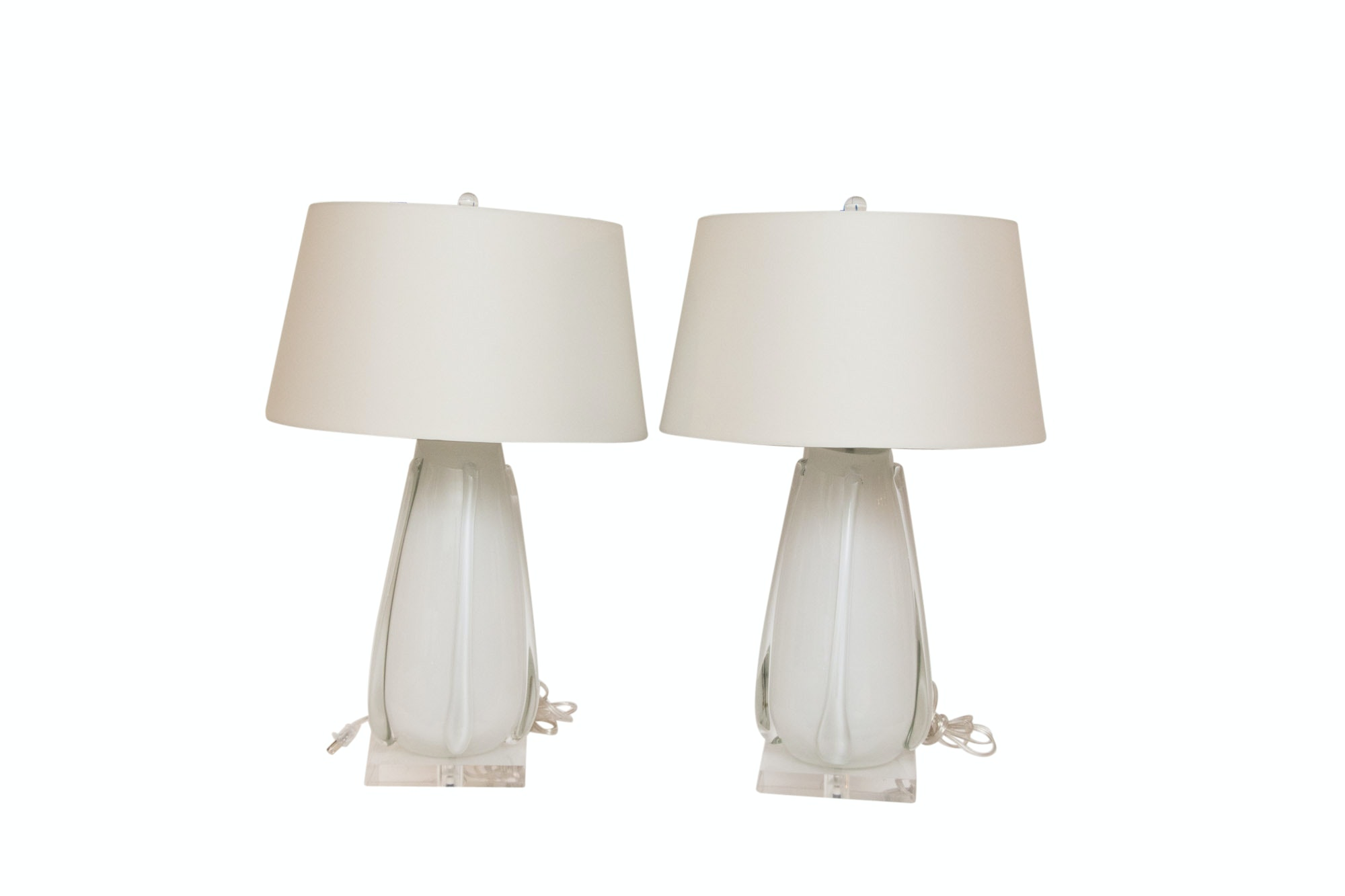Contemporary Glass Table Lamps