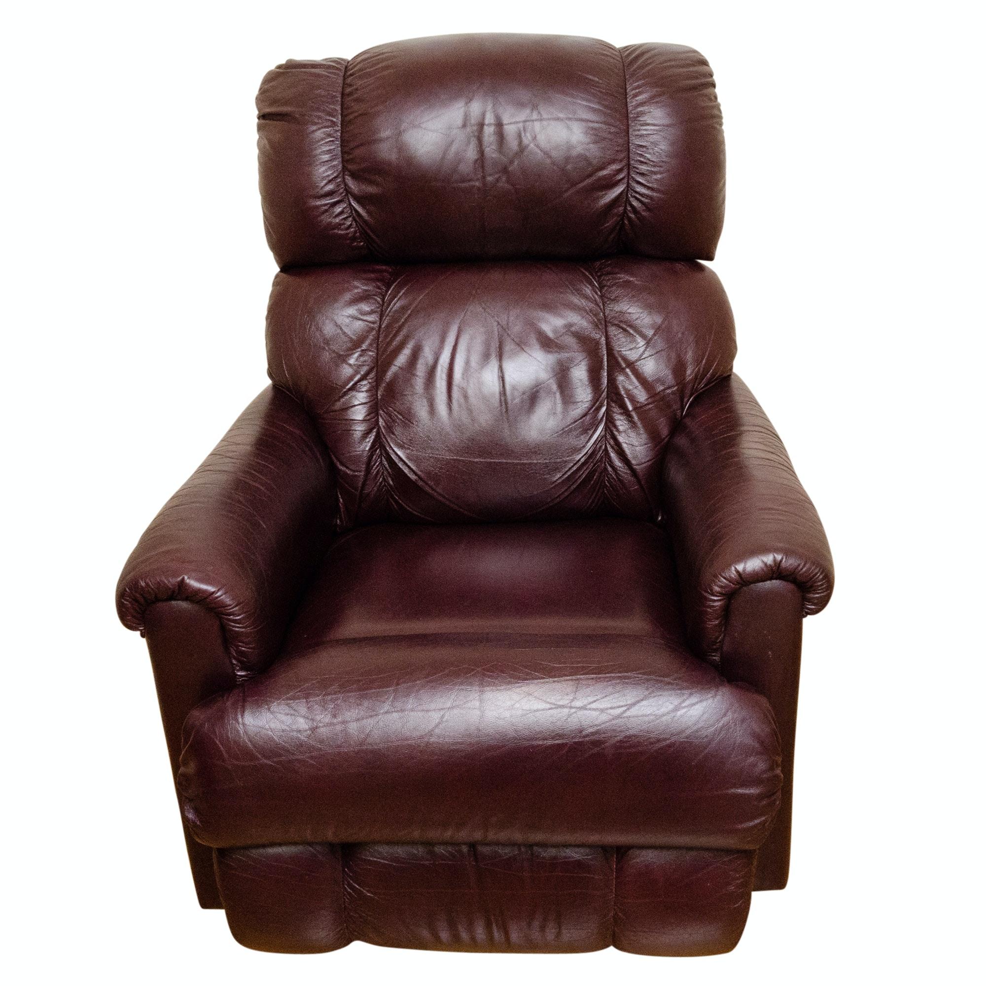 La-Z-Boy Upholstered Leather Recliner