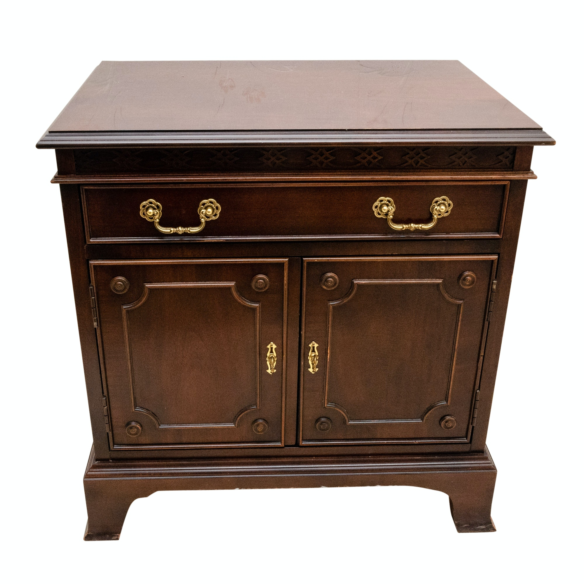 Federal Style Wood Side Cabinet by Century
