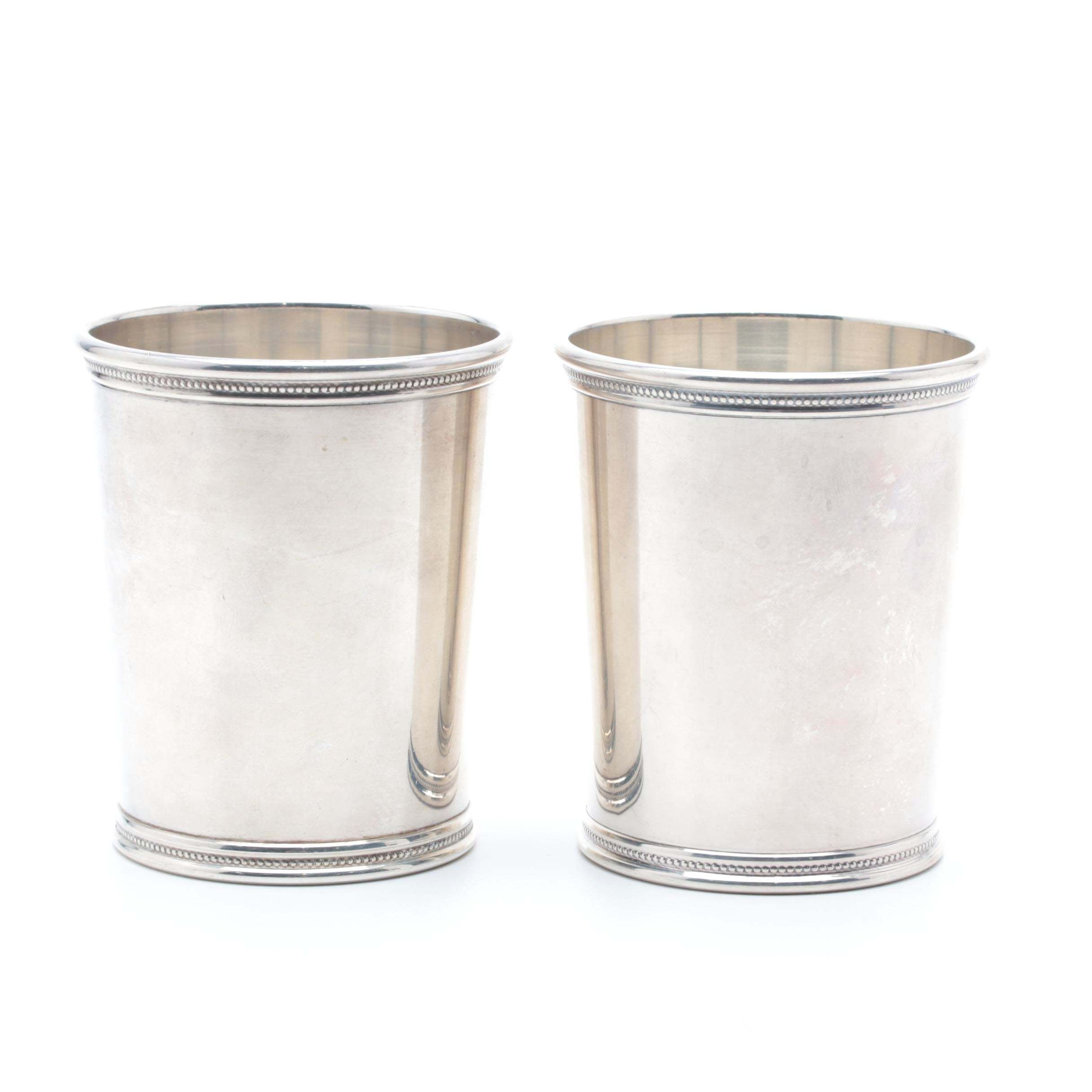 Mark J. Scearce Sterling Silver Presidential Mint Julep Cups