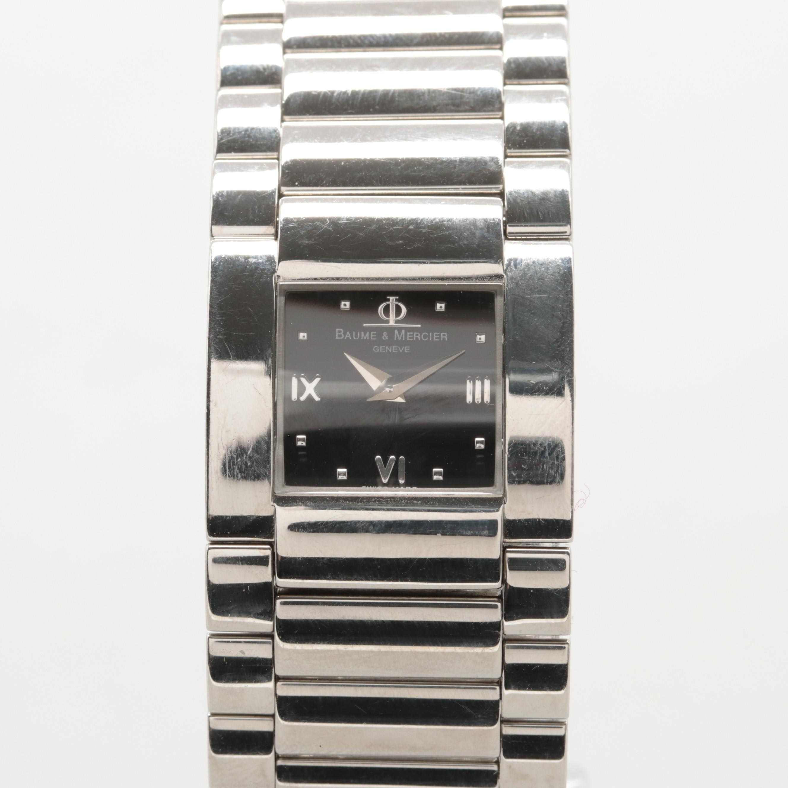 "Baume & Mercier ""Catwalk"" Stainless Steel Quartz Wristwatch"