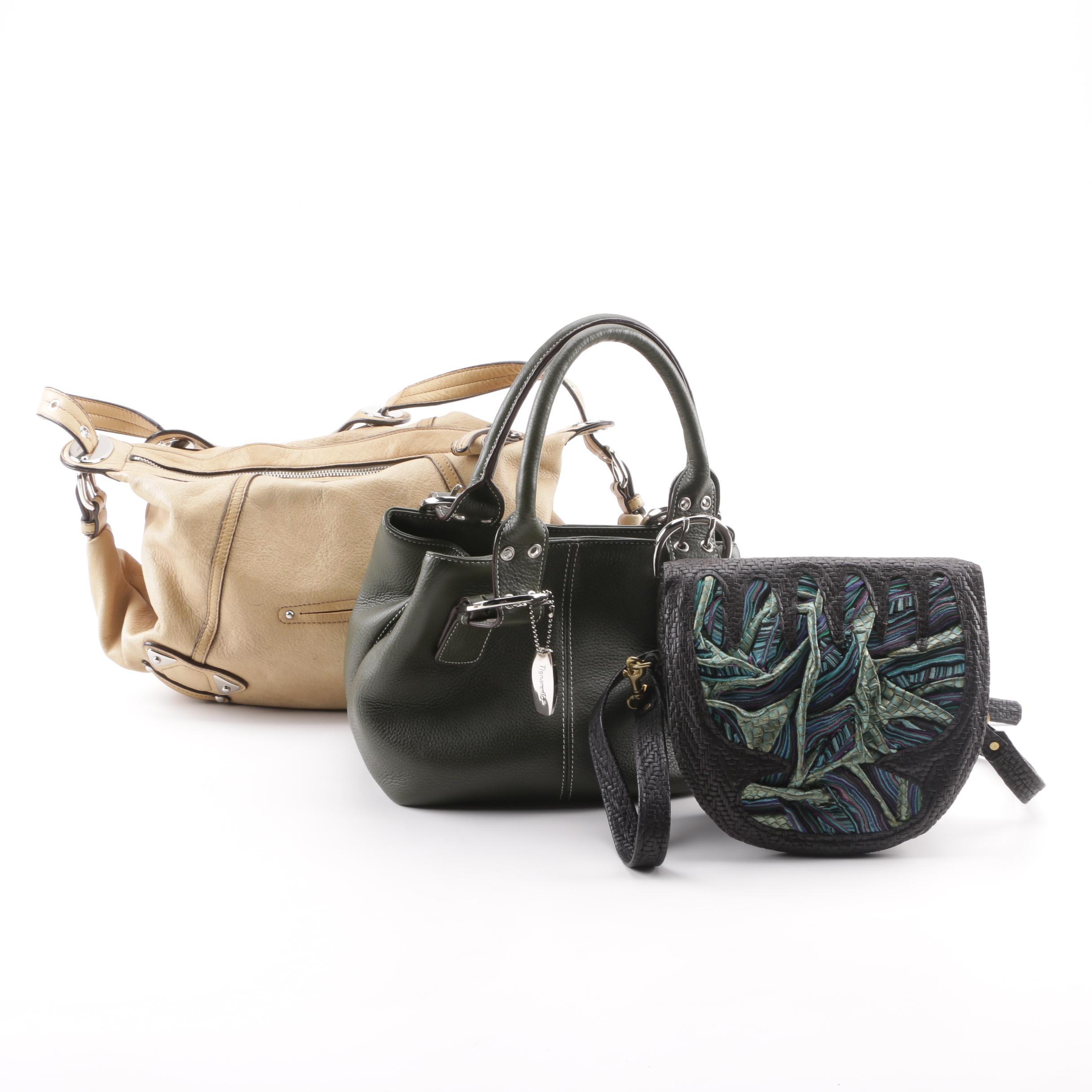 B. Makowsky, Tignanello and Artisan Leather Handbags