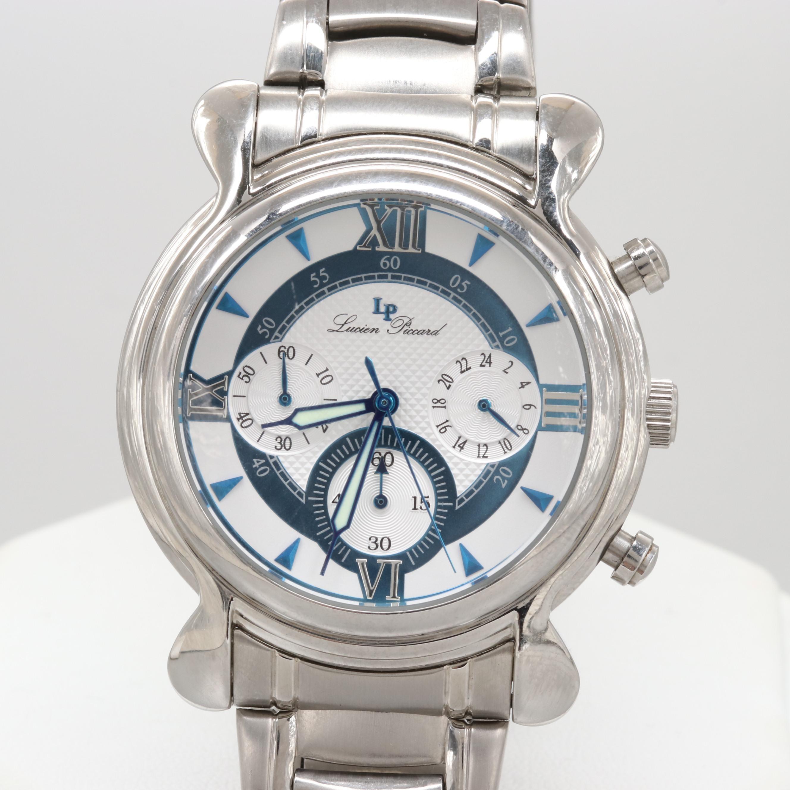 Lucien Piccard Quartz Chronograph Wristwatch
