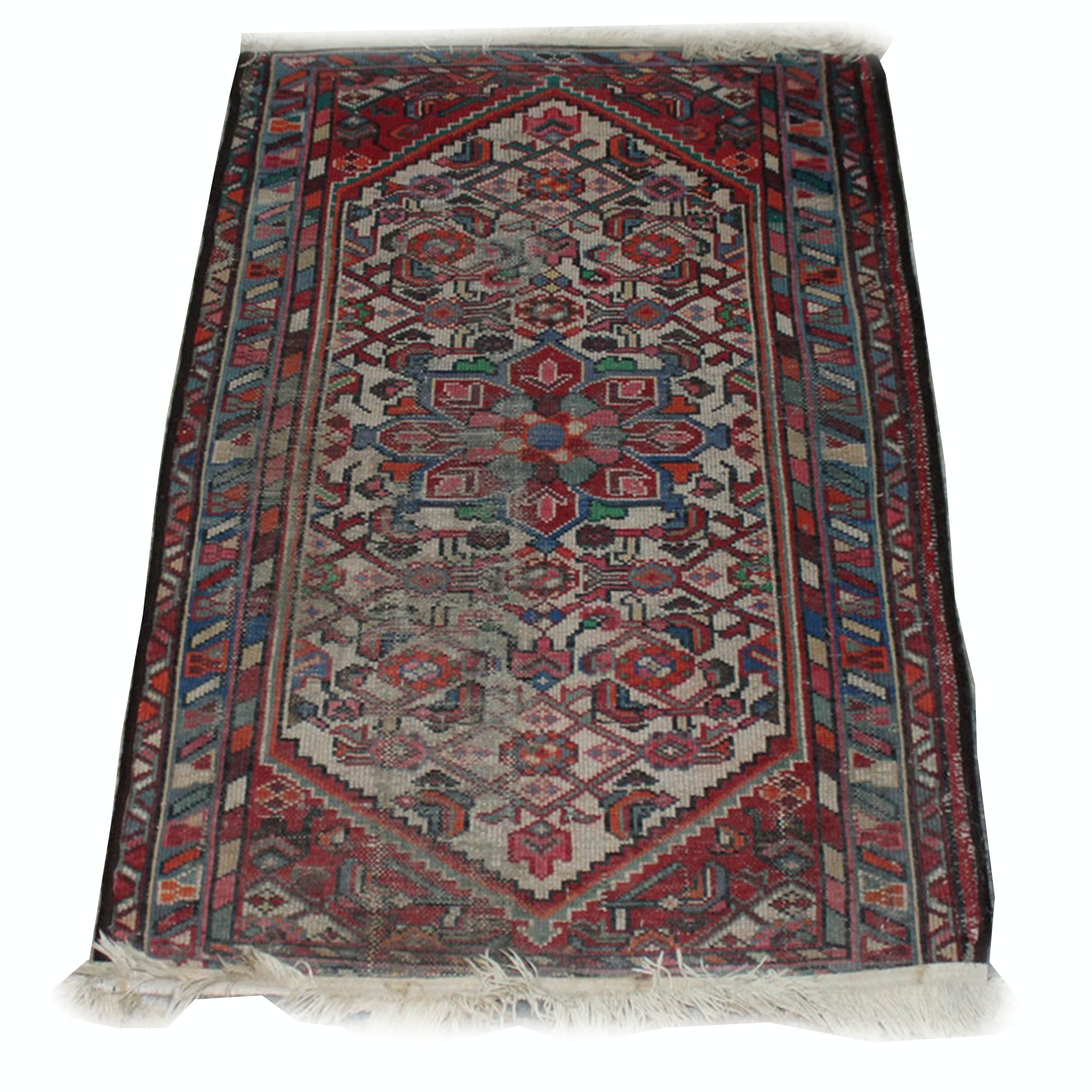 Vintage Hand Knotted Persian Rug