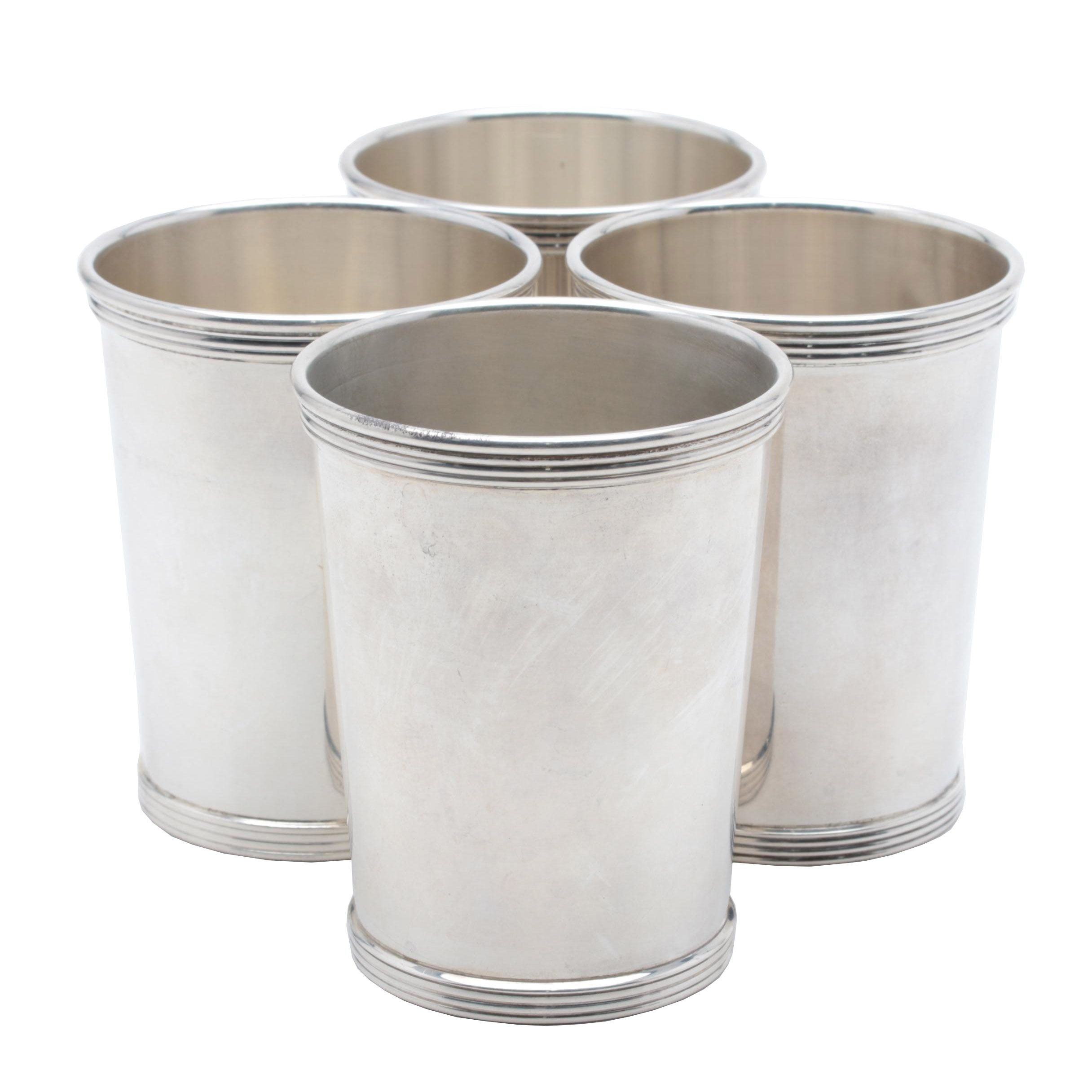 International Silver Co. Sterling Silver Mint Julep Cups