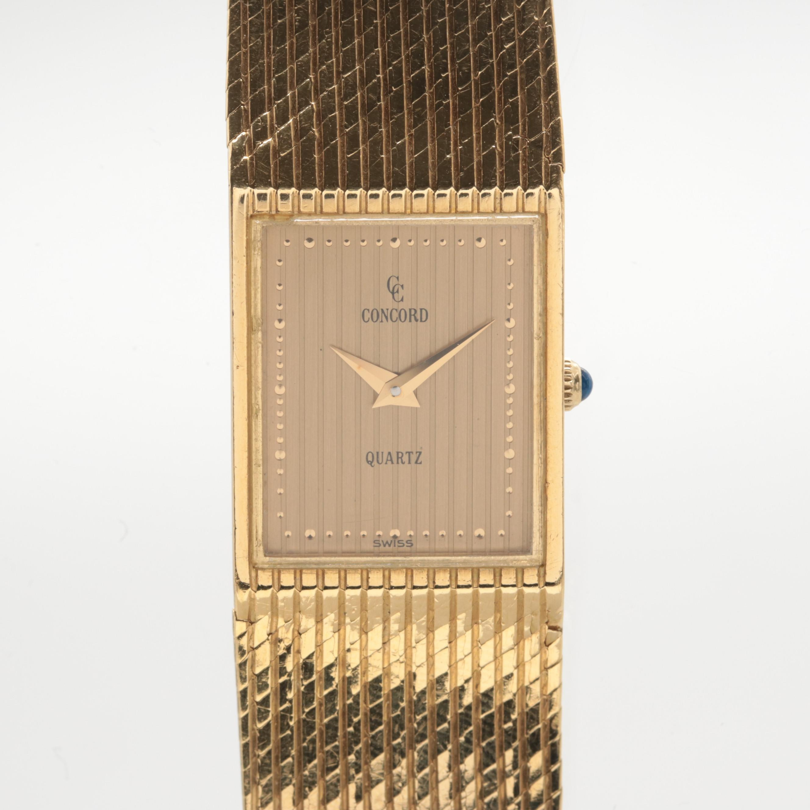 Concord 18K Yellow Gold Wristwatch