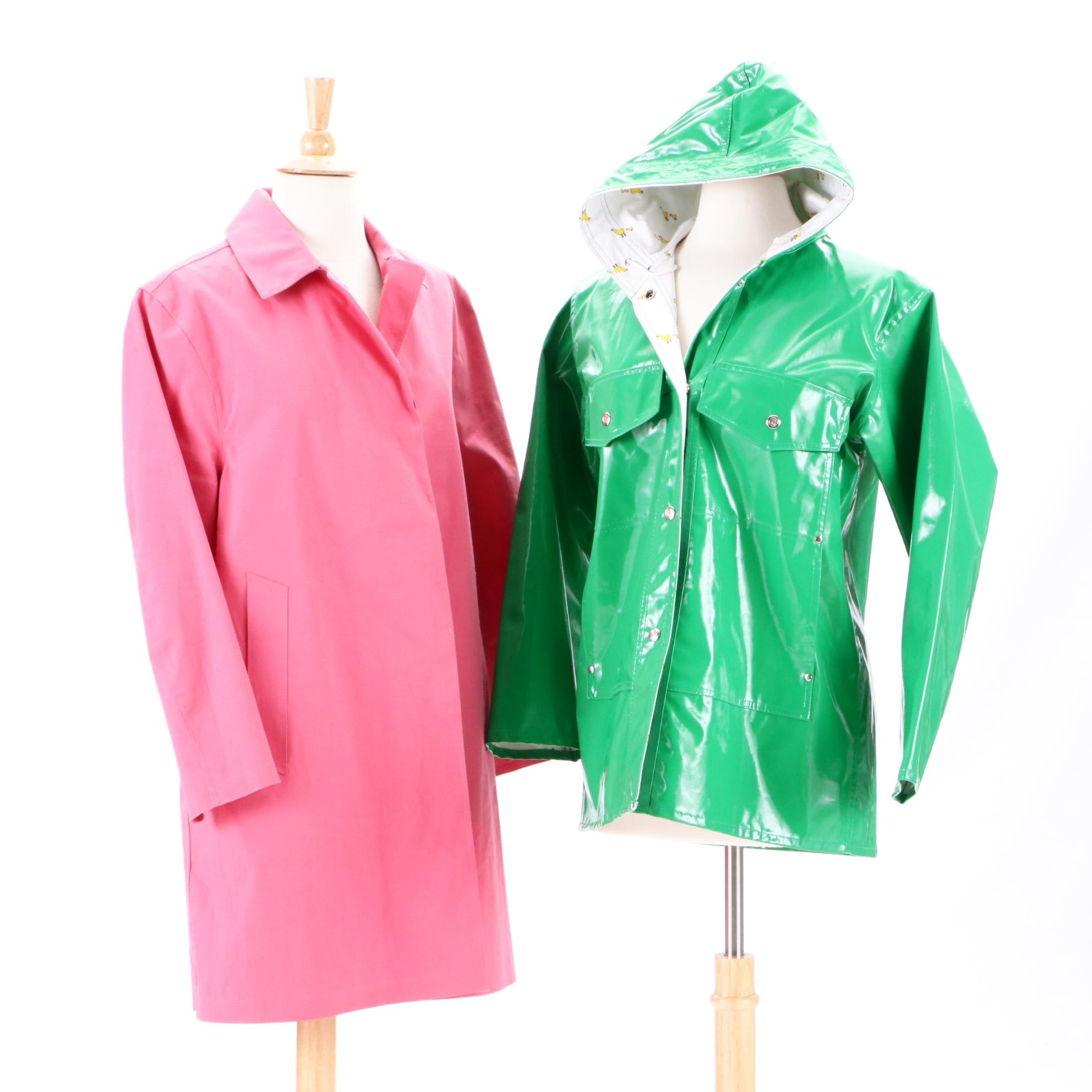 Women's The Eagle's Eye Rain Jacket and Connolly Driving Coat