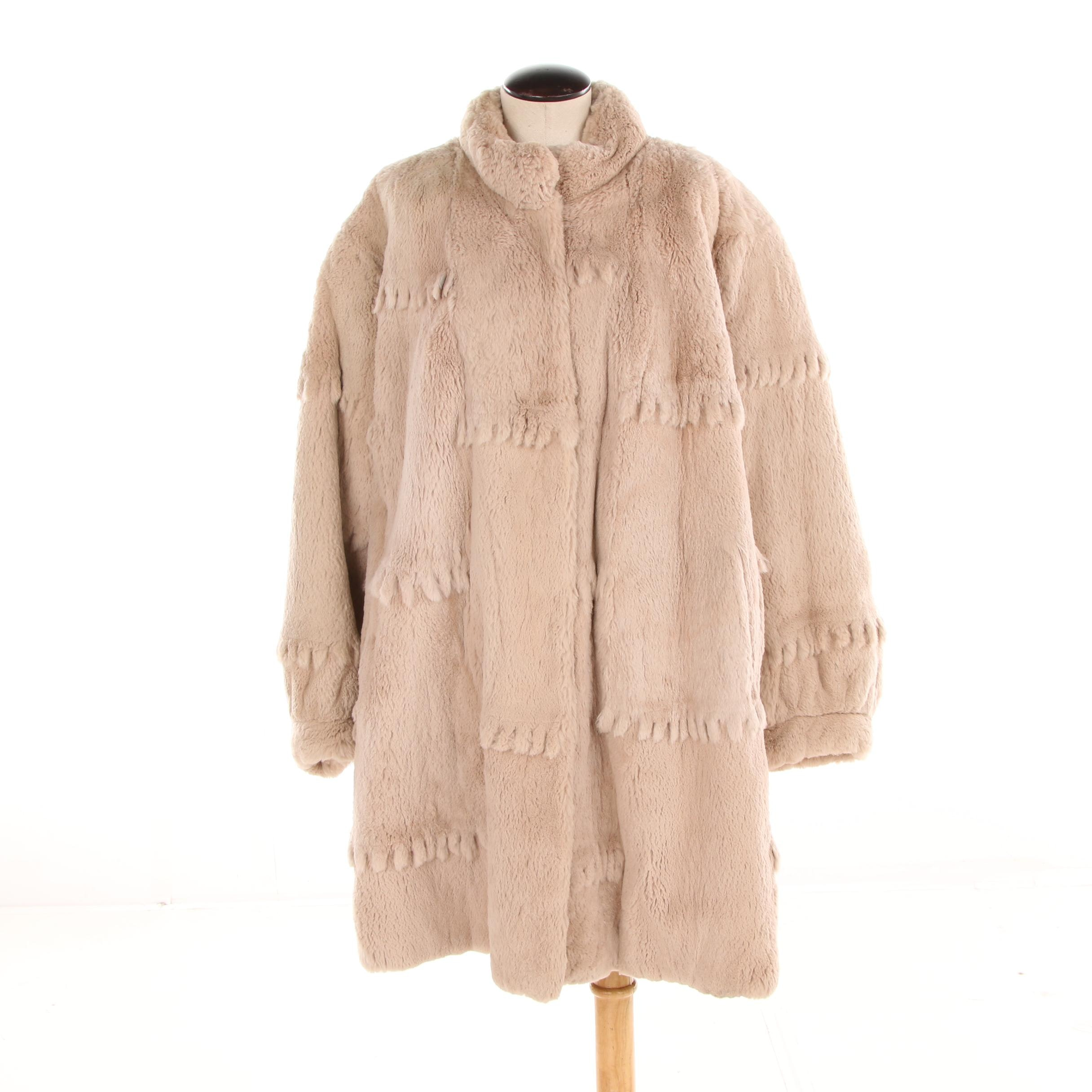 Women's Polo Norte Furs Sheared Beaver Fur Coat