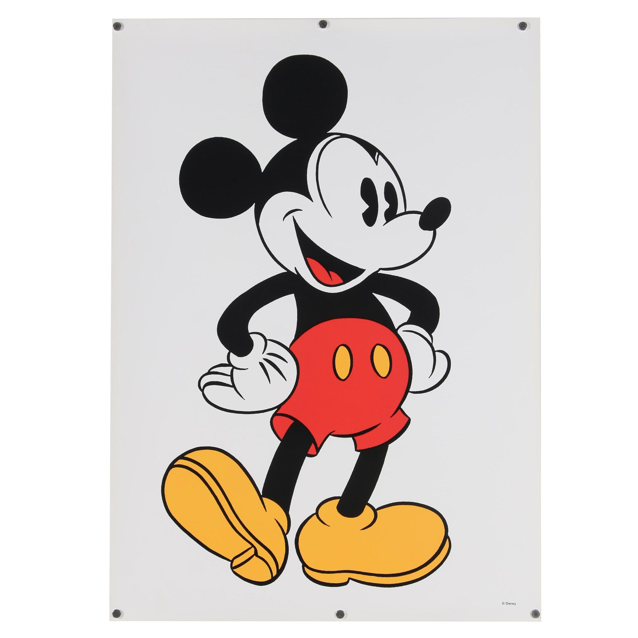 Sowa & Reiser Serigraph of Mickey Mouse
